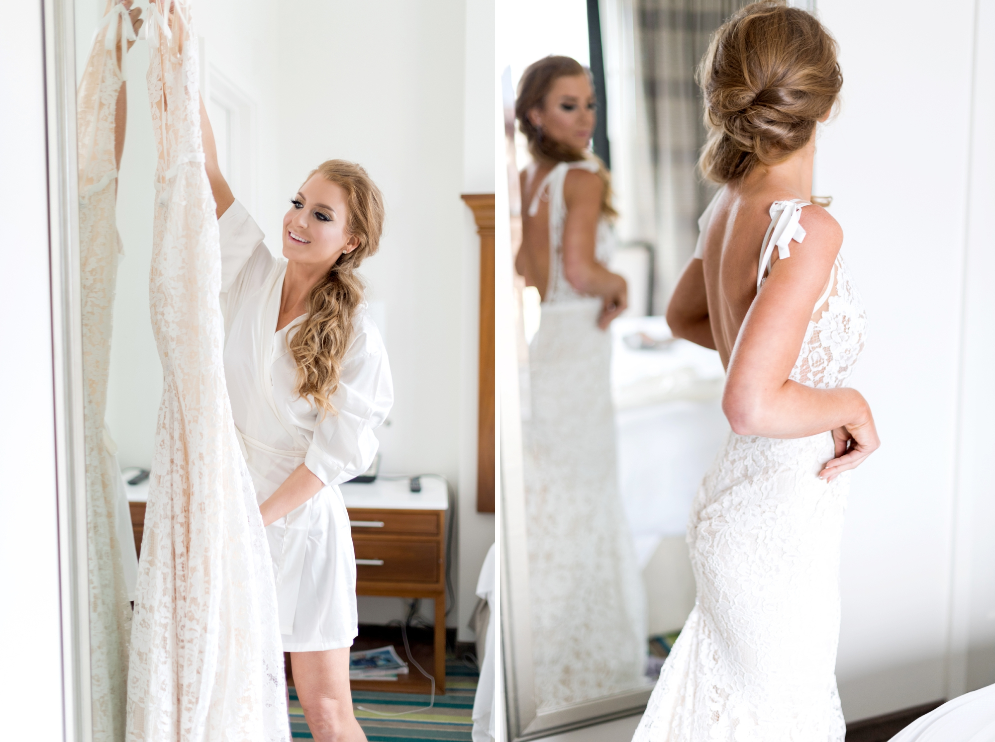 low side ponytail - best wedding hairstyles
