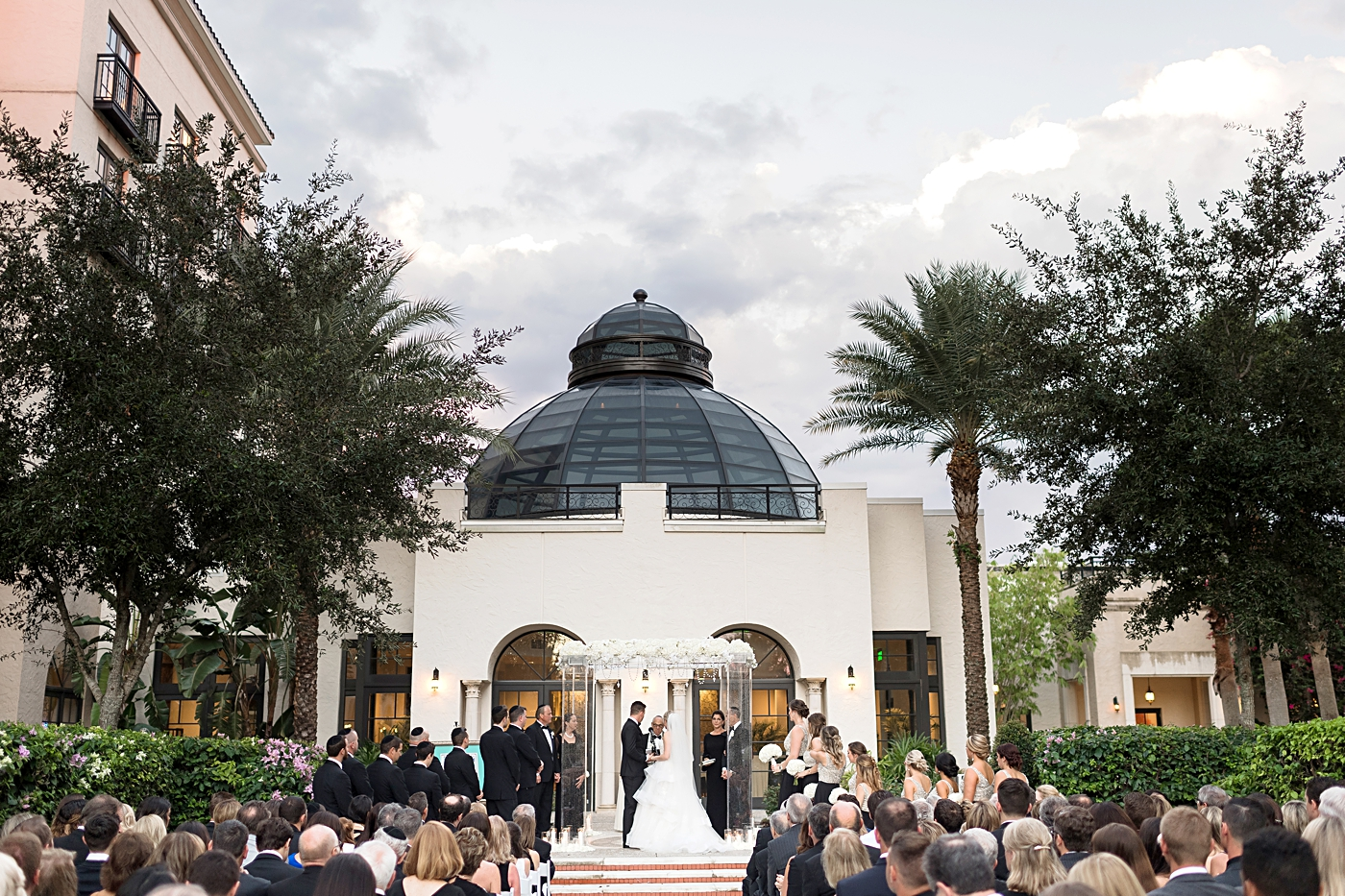 alfond inn outside ceremony