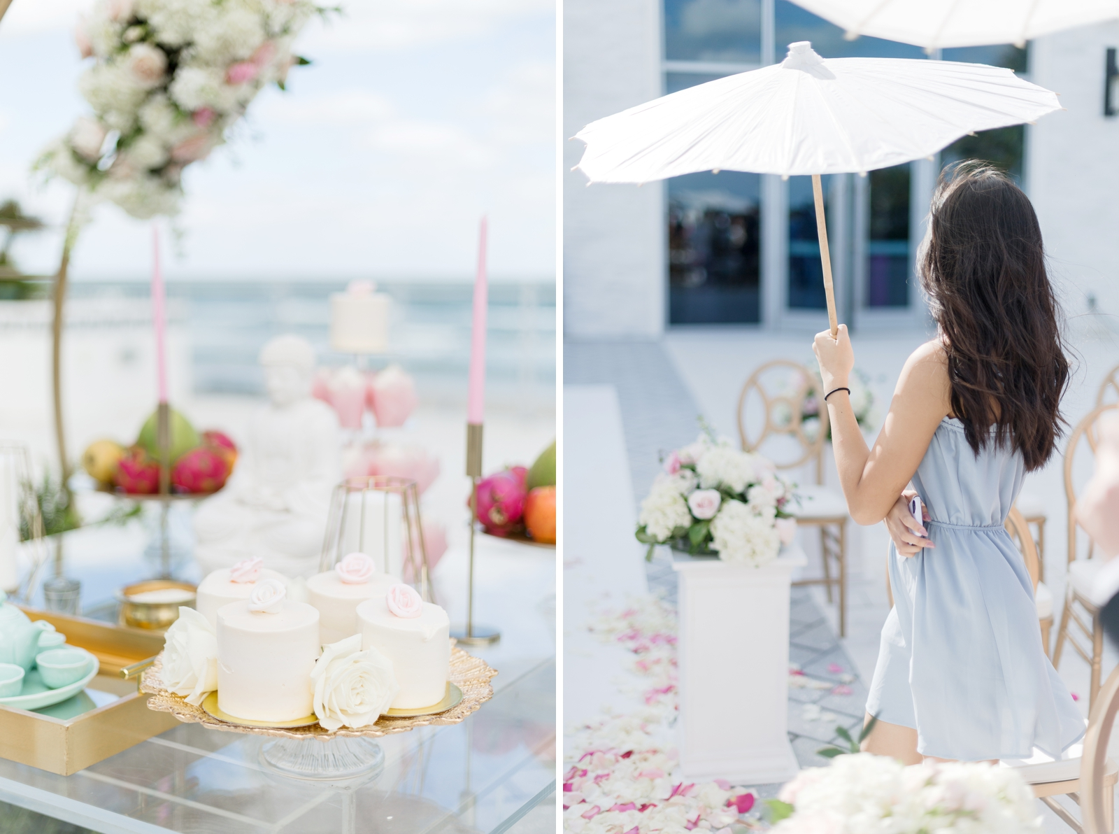 hard rock hotel terrace wedding ceremony