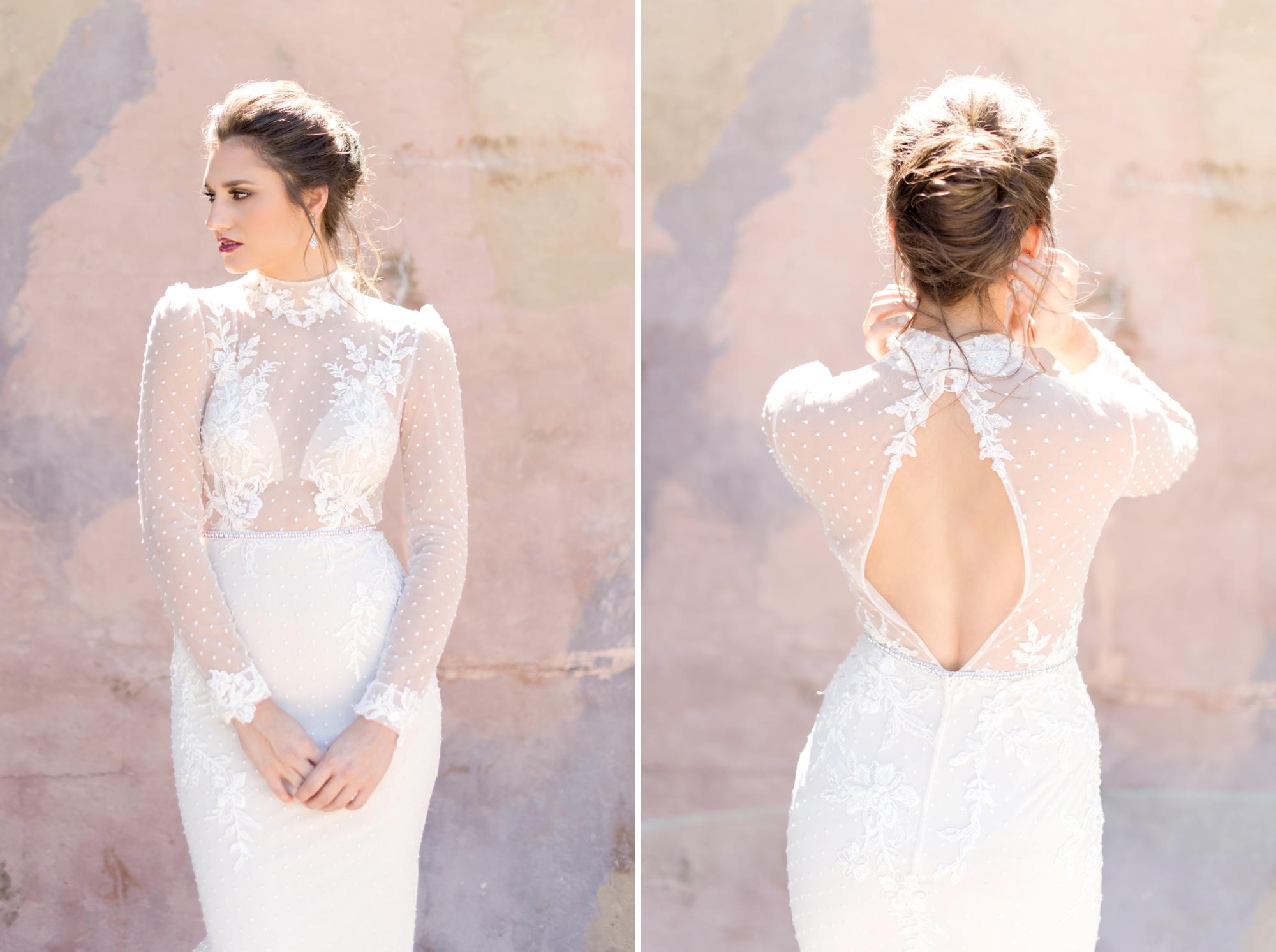 modern french twist - best wedding hairstyles