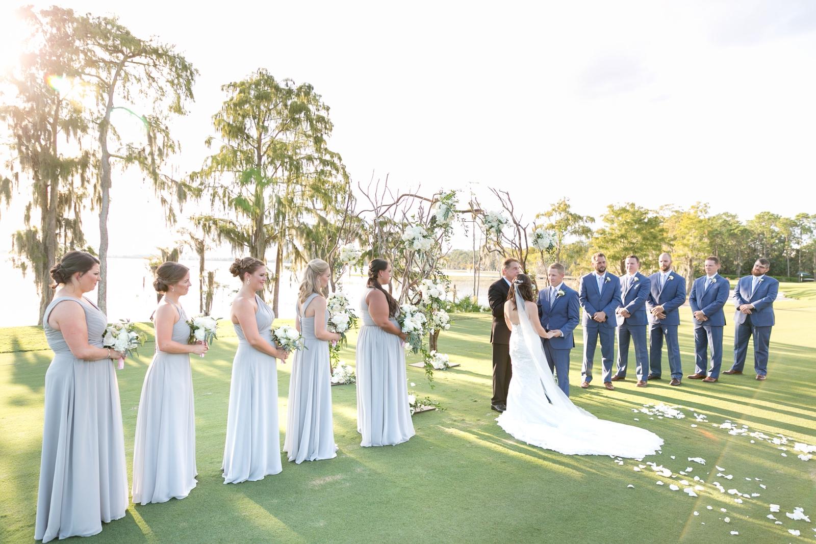 lake nona country club wedding