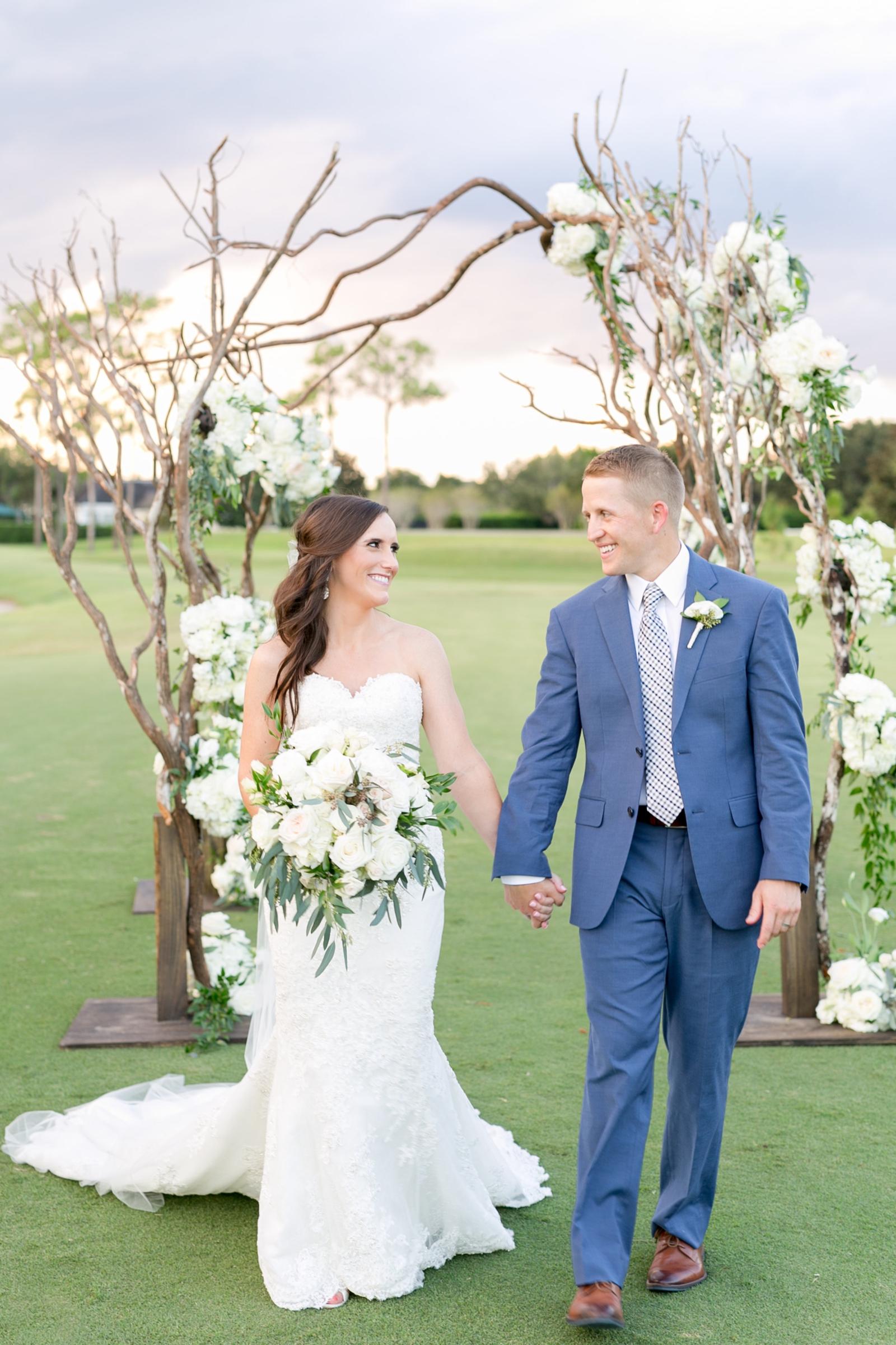wedding chuppah made of branches