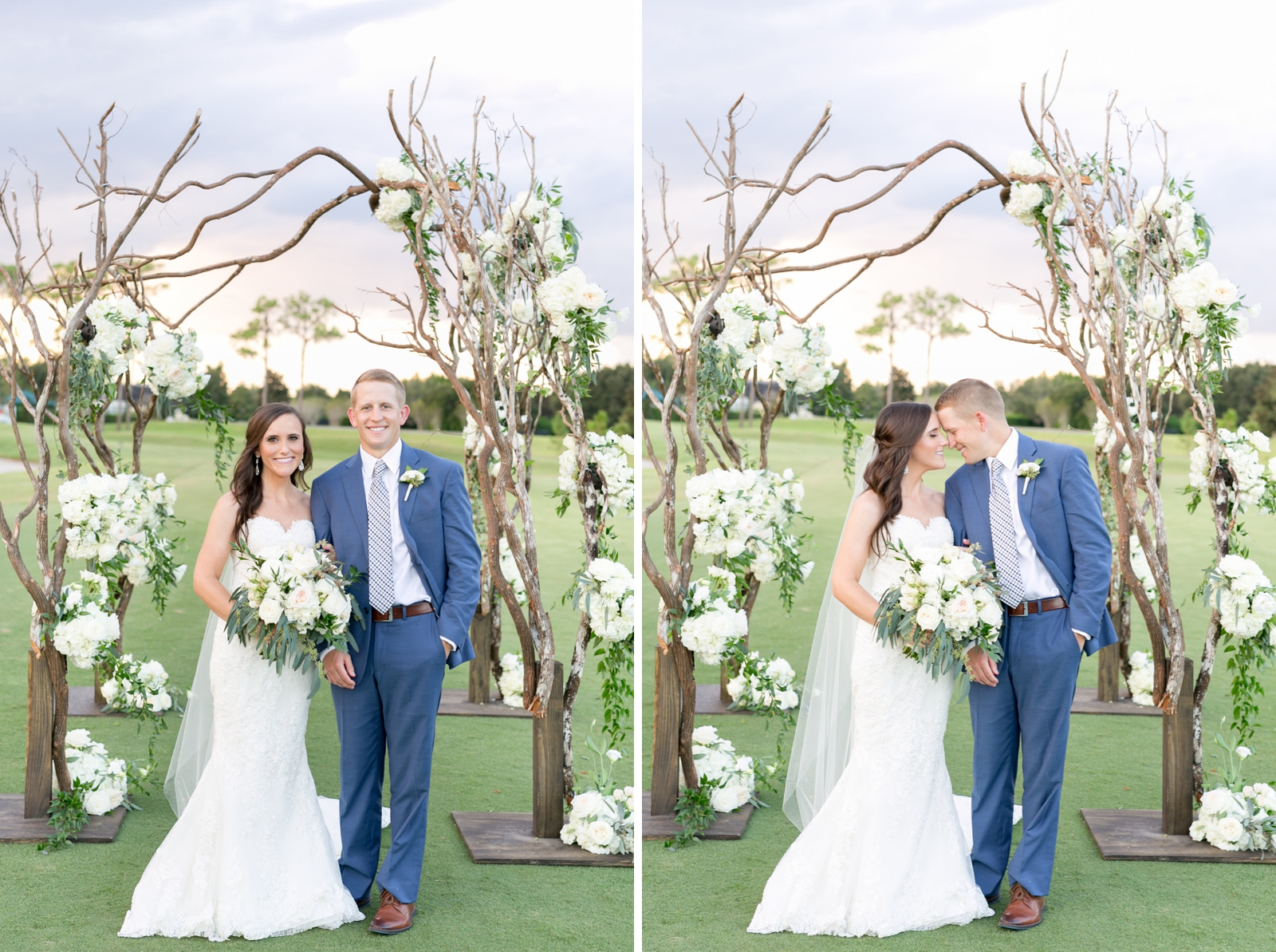 outdoor jewish wedding chuppah