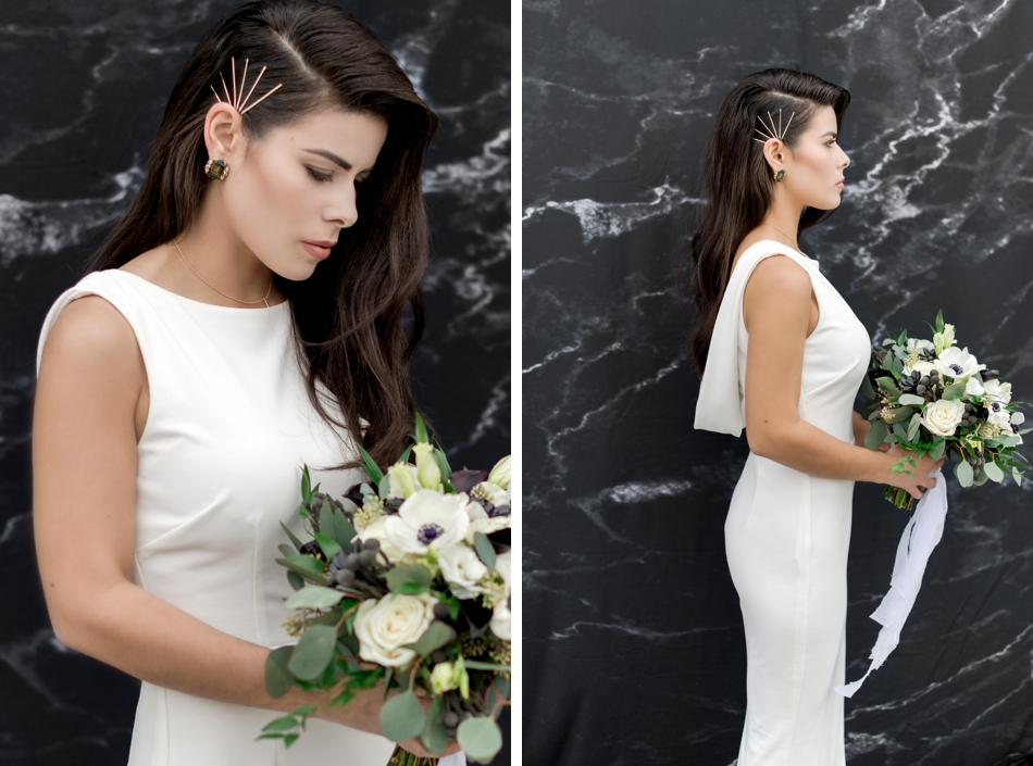 modern diy wedding hair accessories