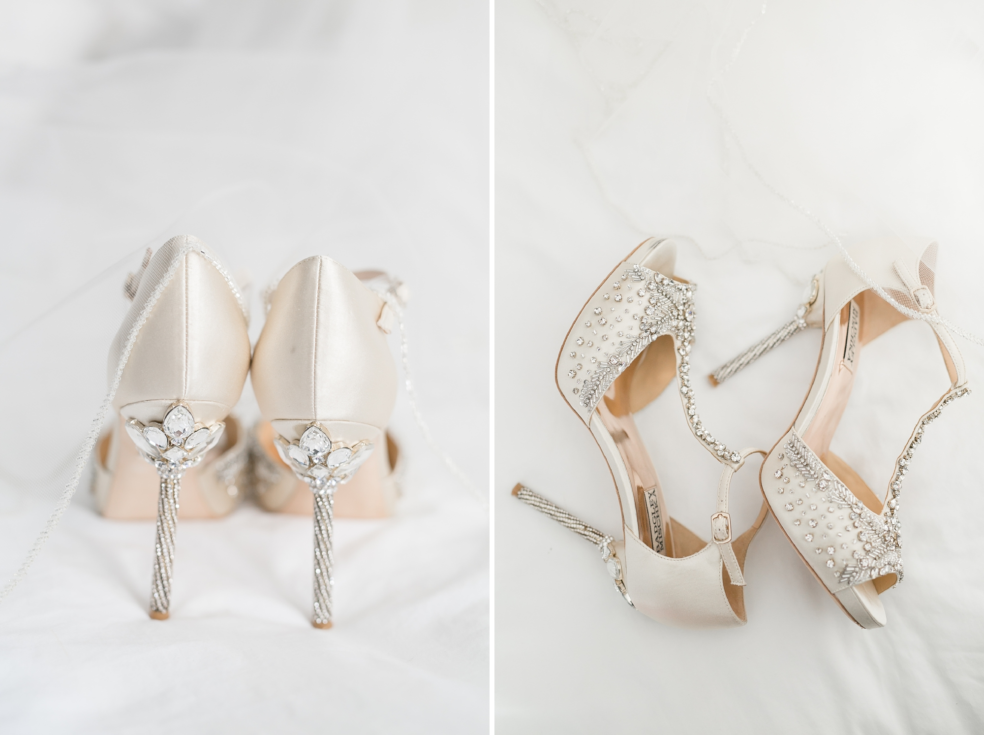bridal shoes badgley mischka