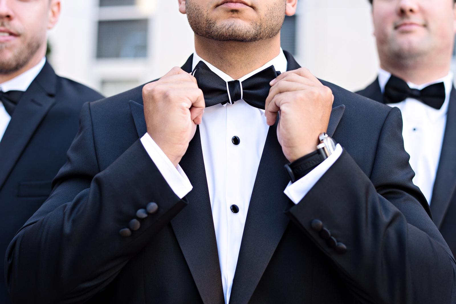 classic wedding bowtie