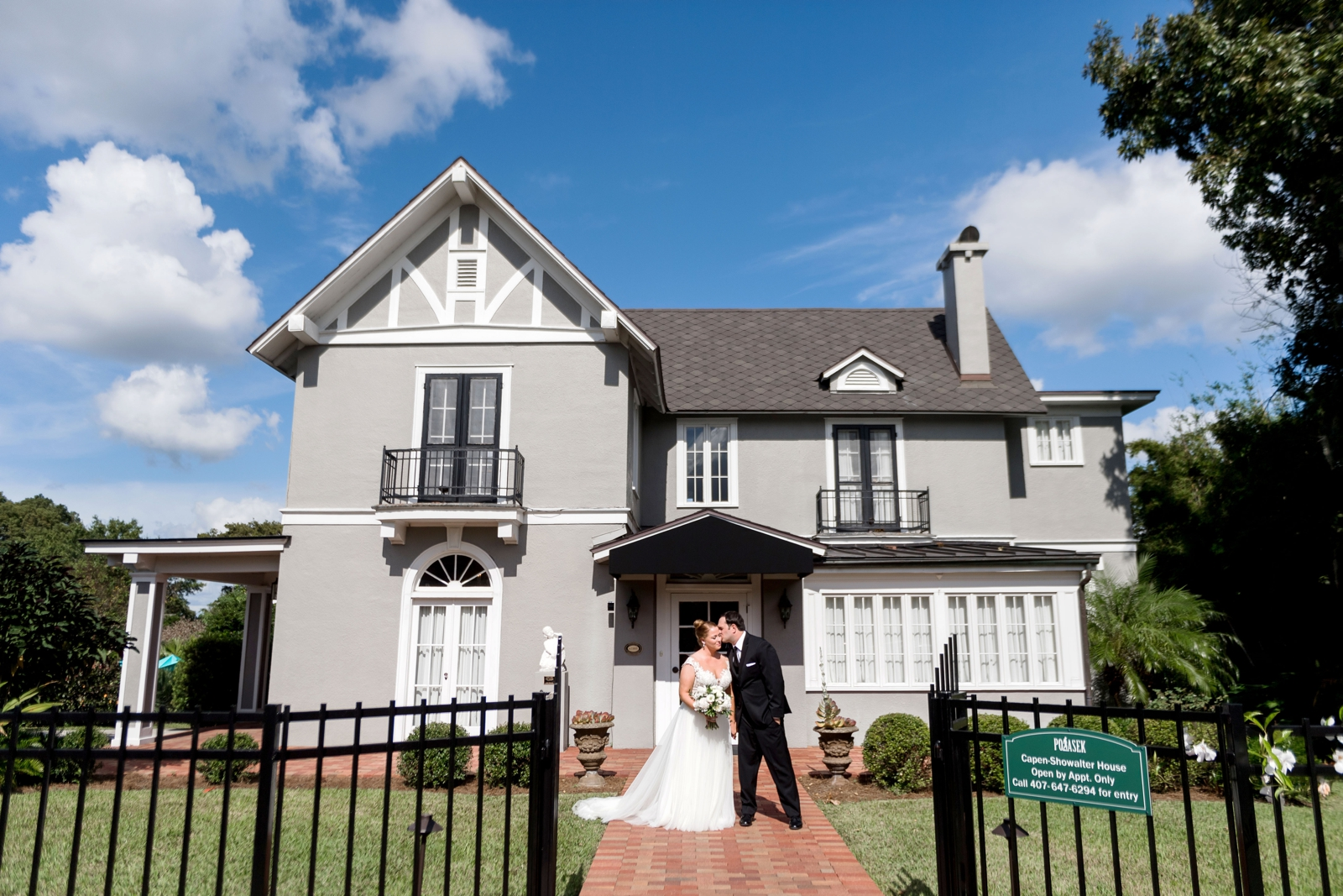 capen house wedding orlando