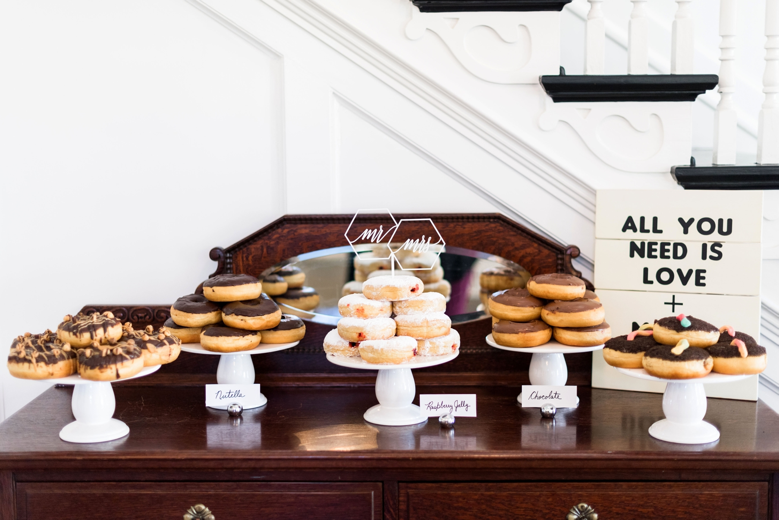 reception donut bar