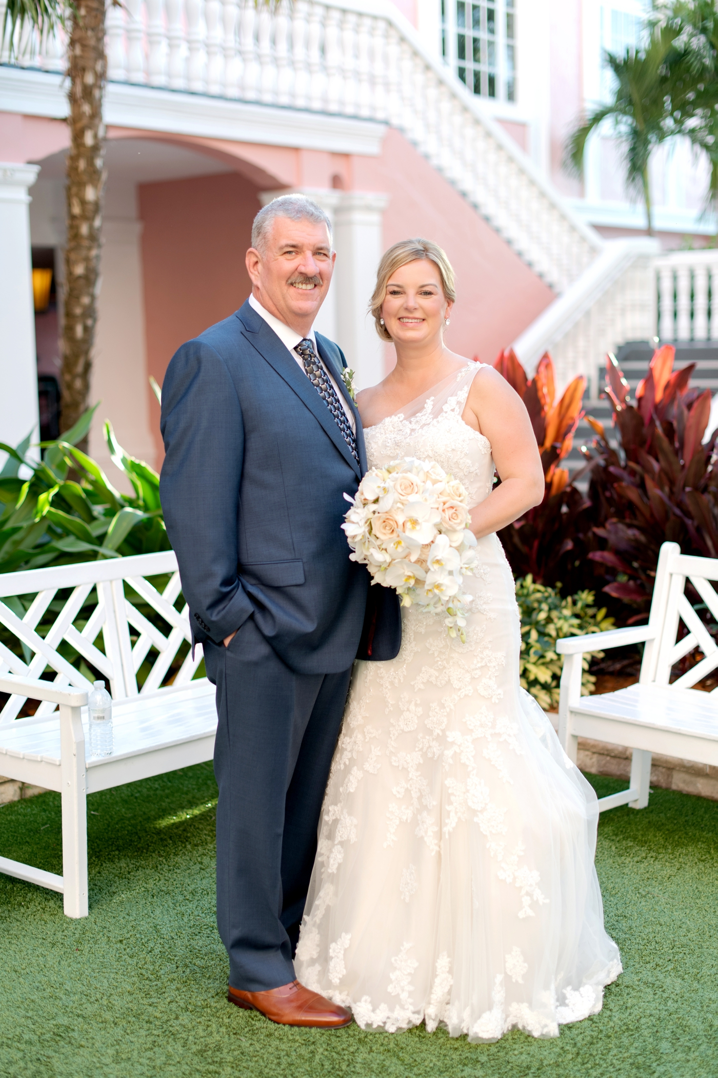 Don Cesar Bride and Groom Portraits