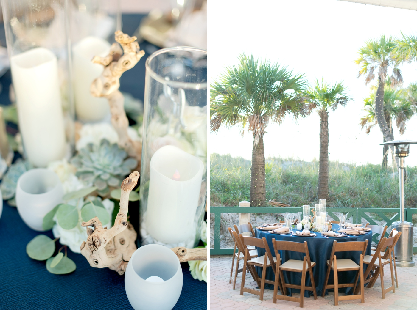 Coastal Wedding Reception