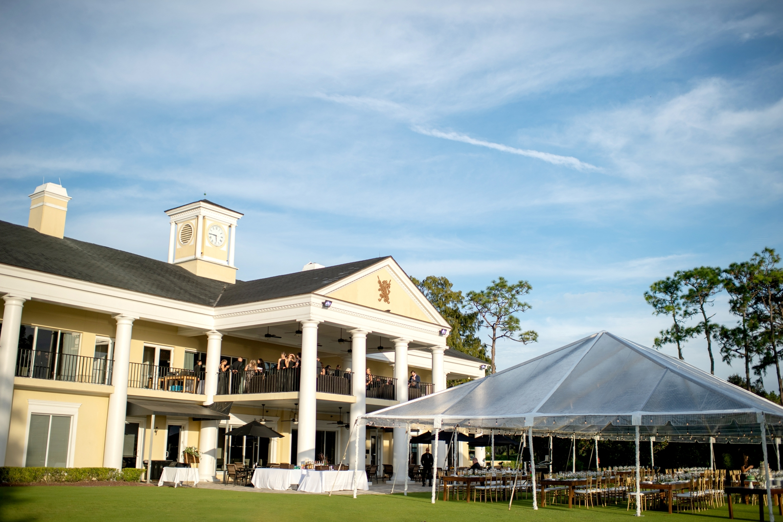 tented wedding reception orlando
