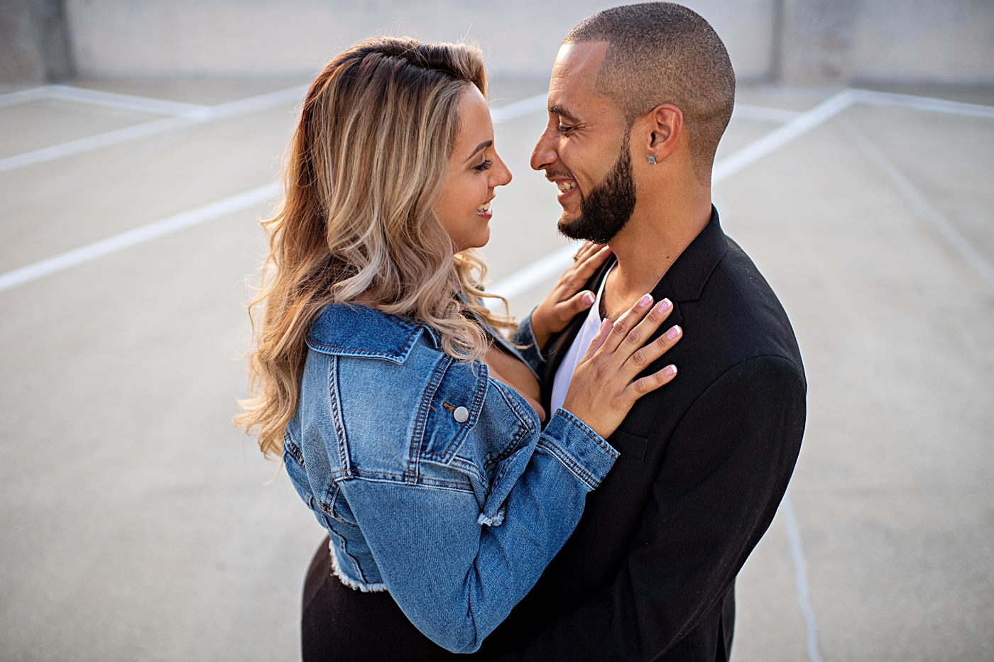 Orlando Rooftop Engagement Session