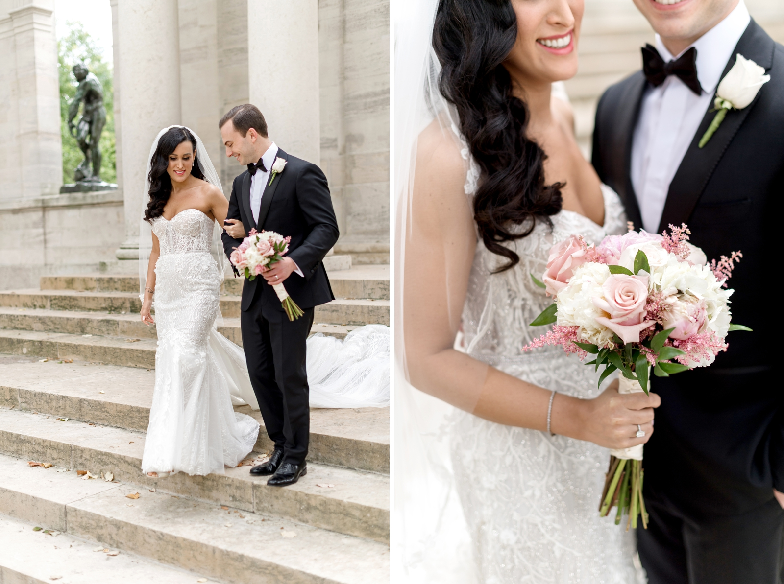 rodin museum wedding photographer