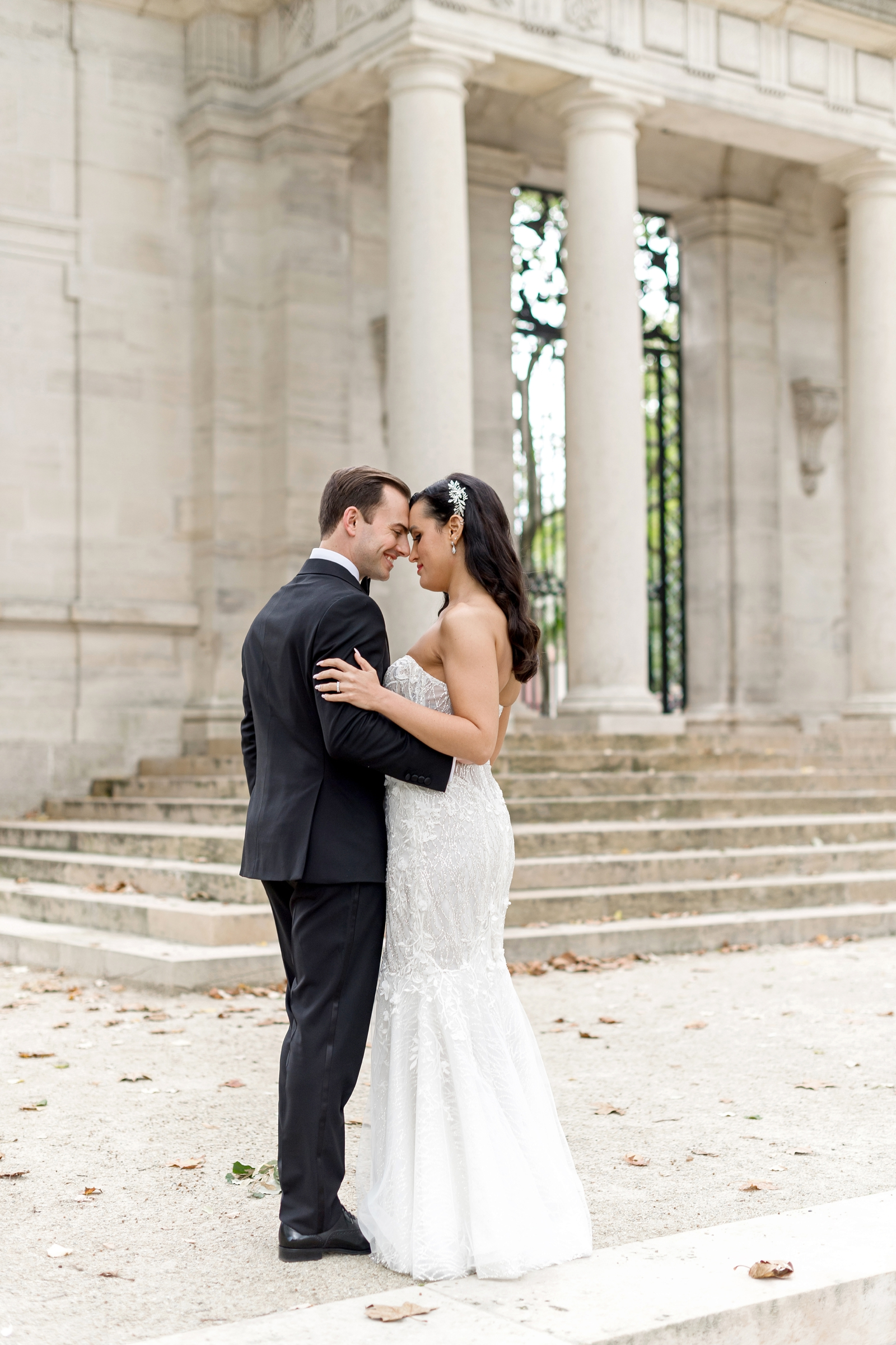 philadelphia wedding photographer rodin musuem