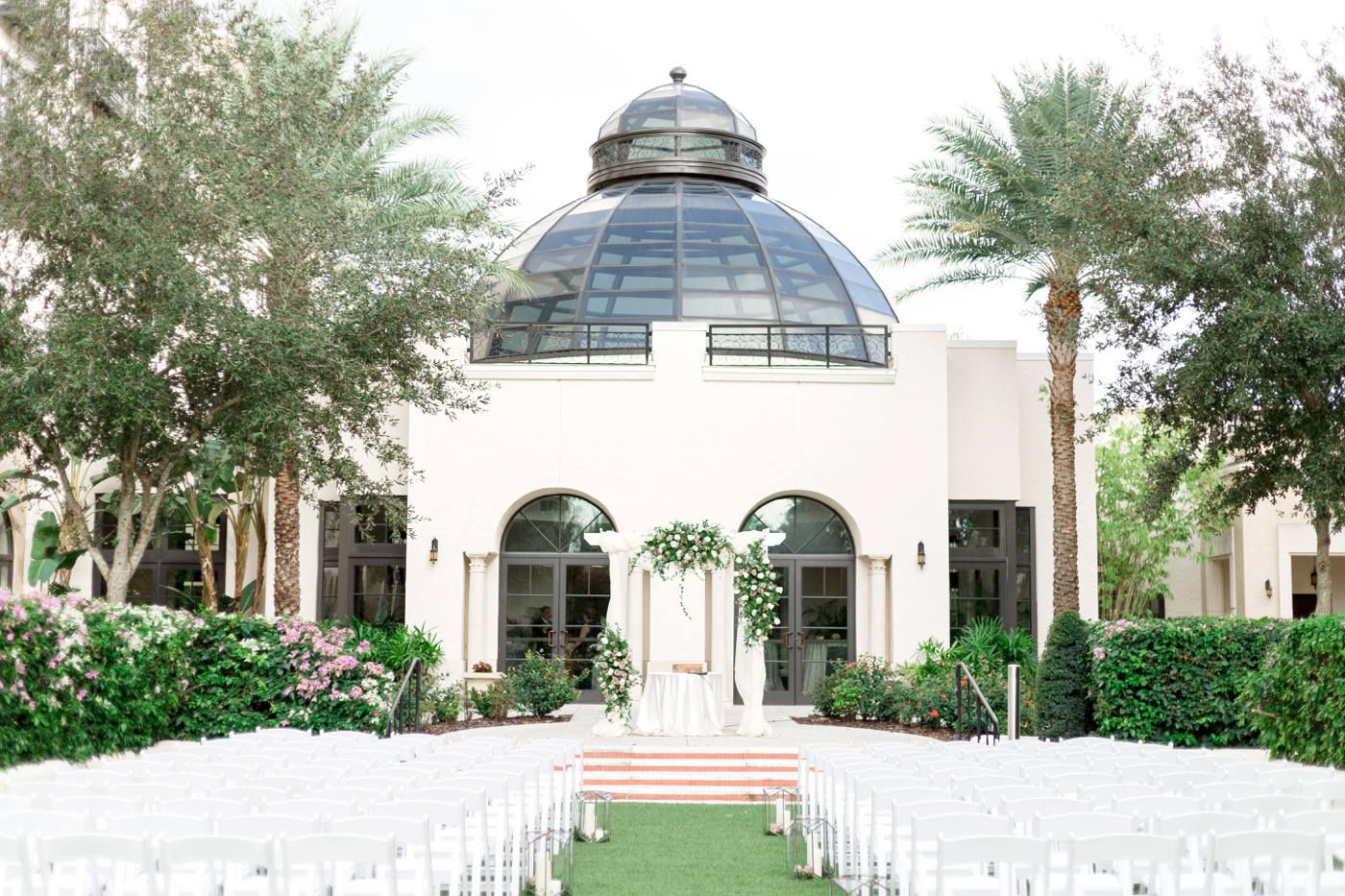 alfond inn lawn ceremony
