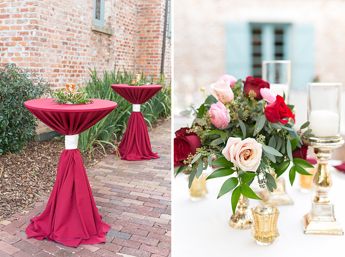 burgundy wedding in orlando