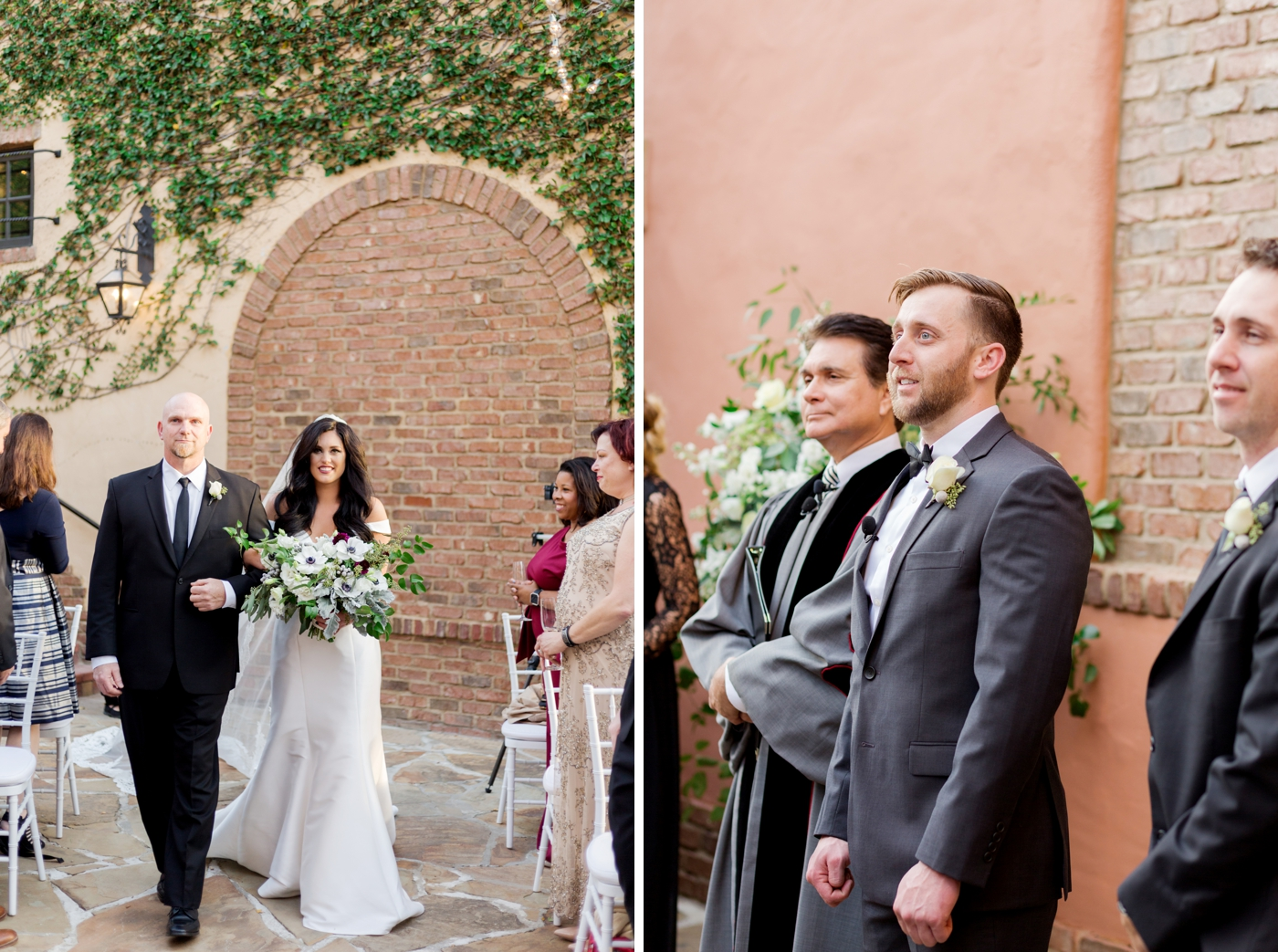 bella collina outdoor wedding