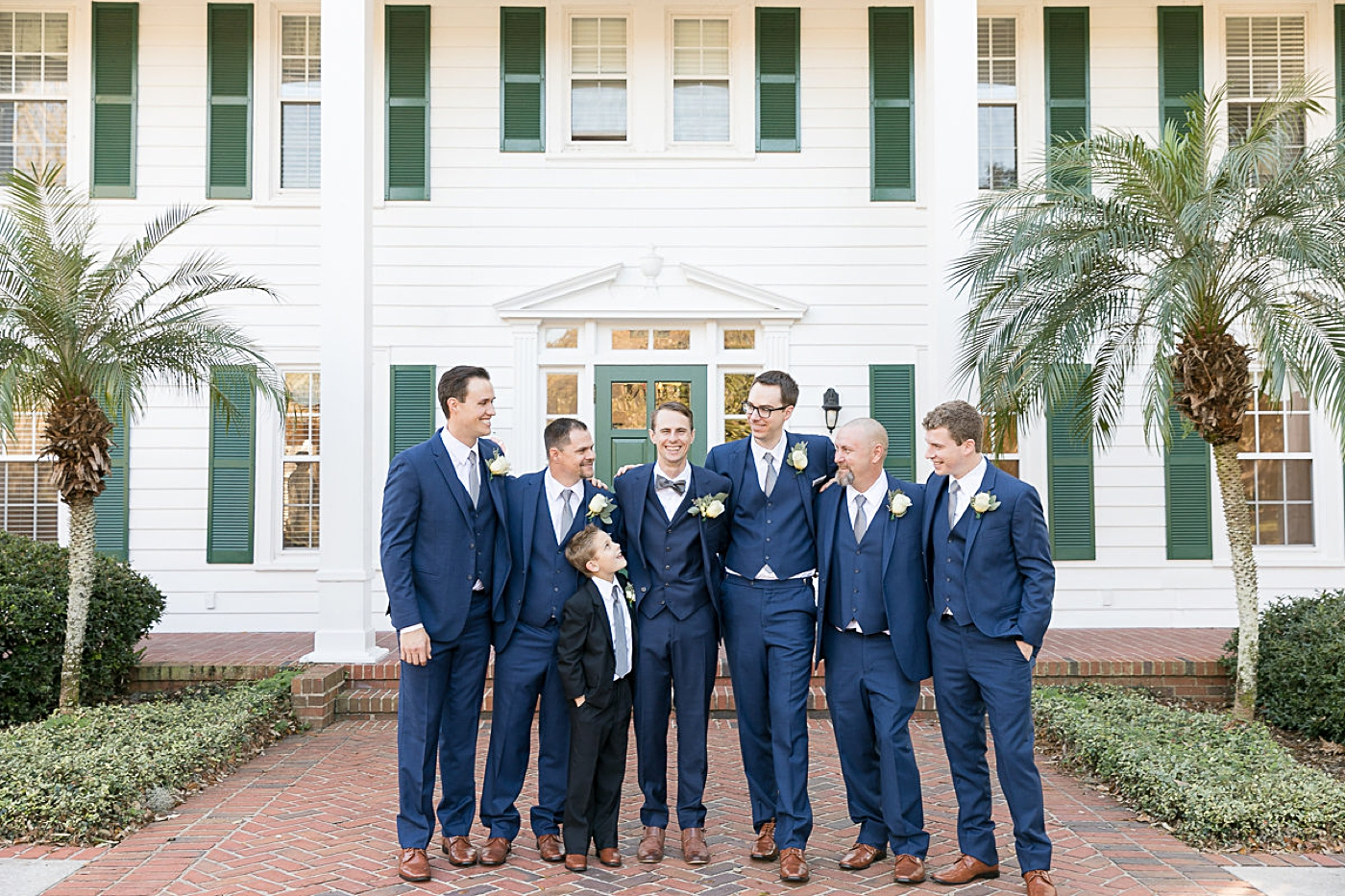groomsmen southern style