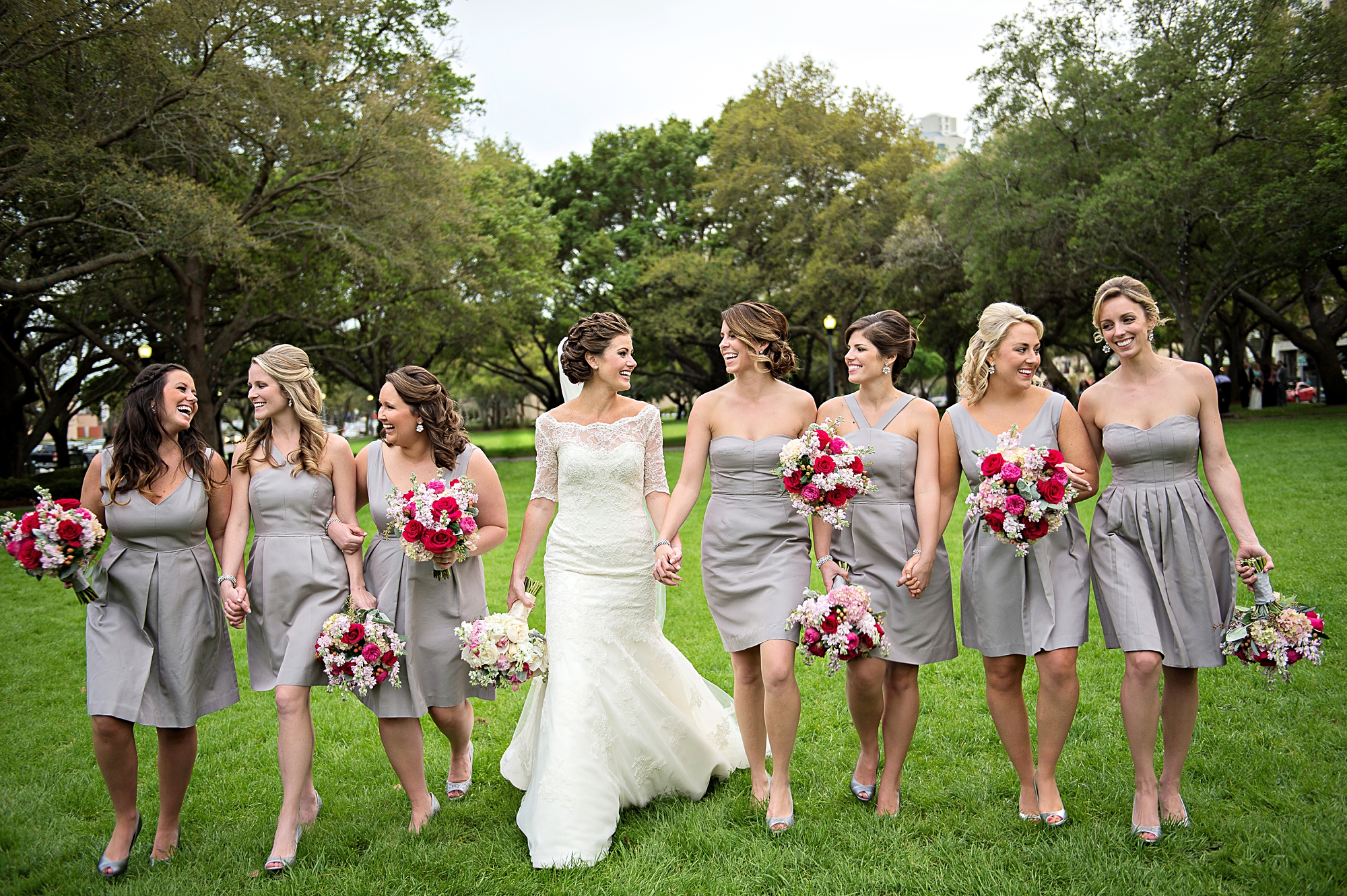 Short bridesmaid dress ideas