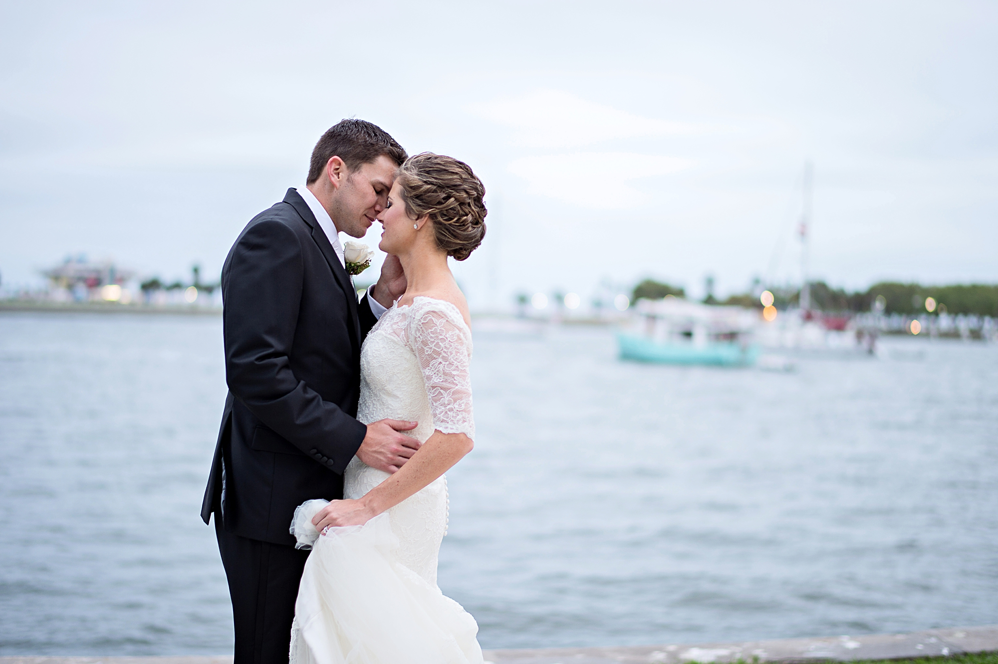 st pete lake front wedding