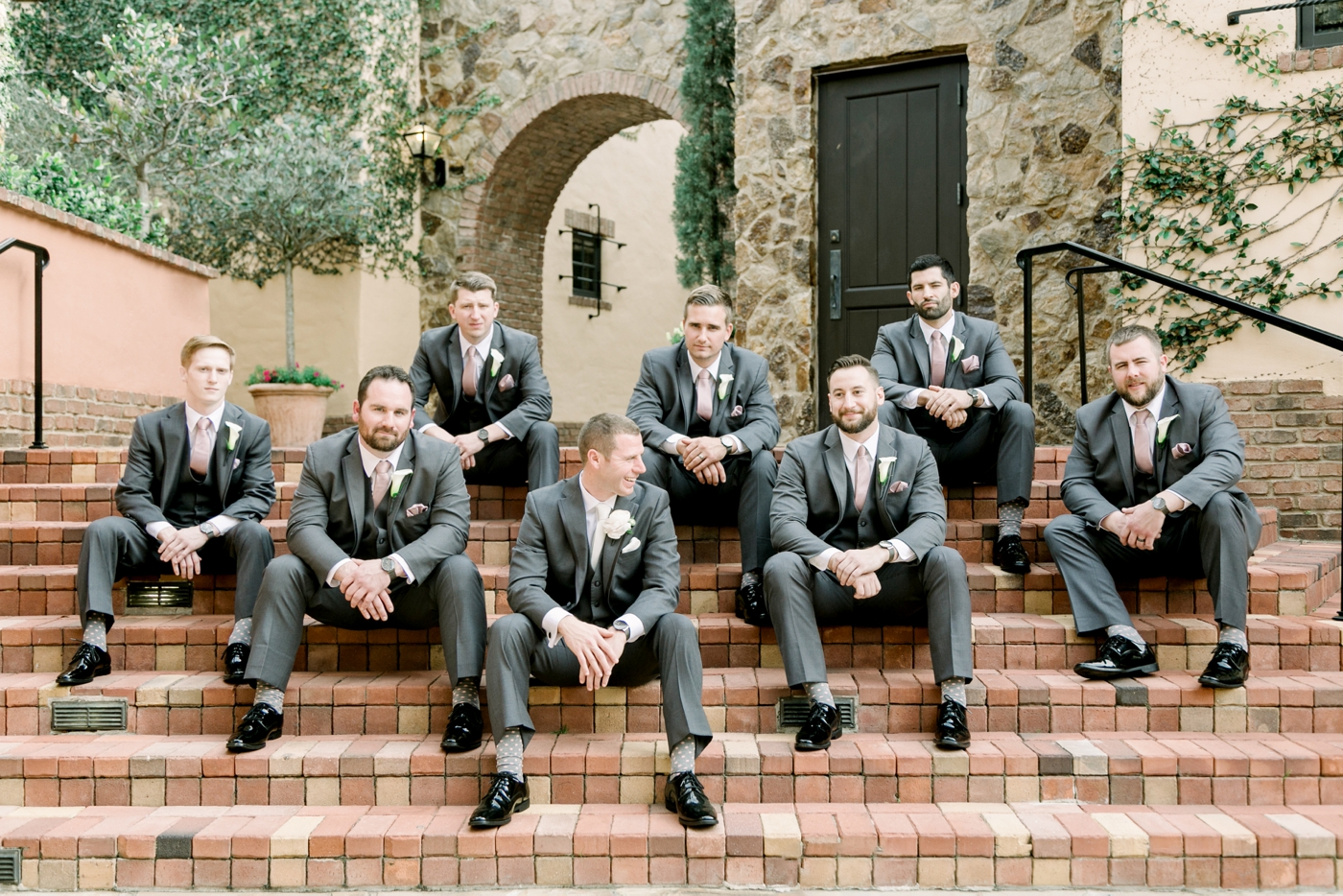 groomsmen casual photo