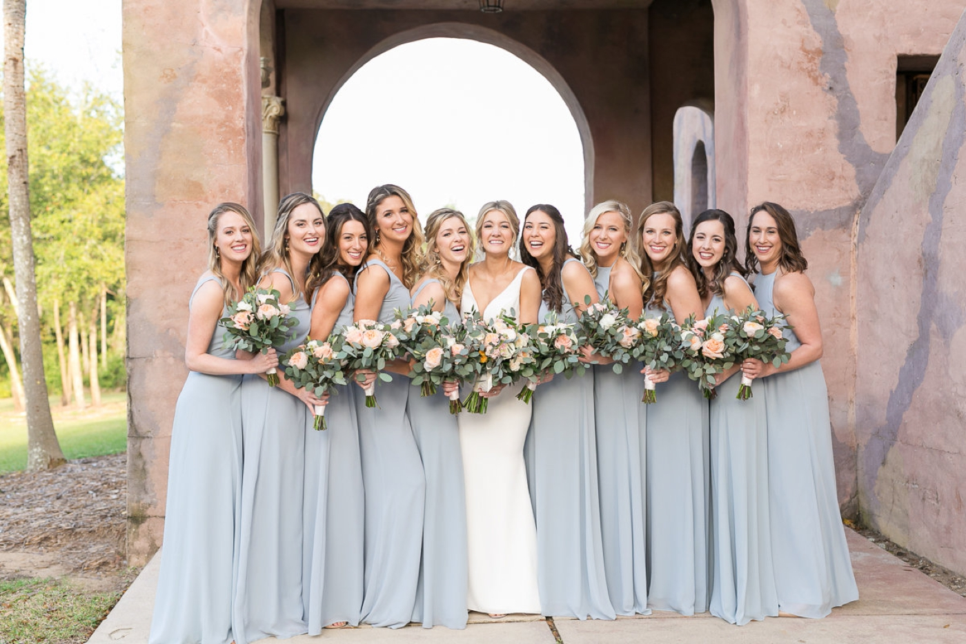 orlando bridesmaid dress