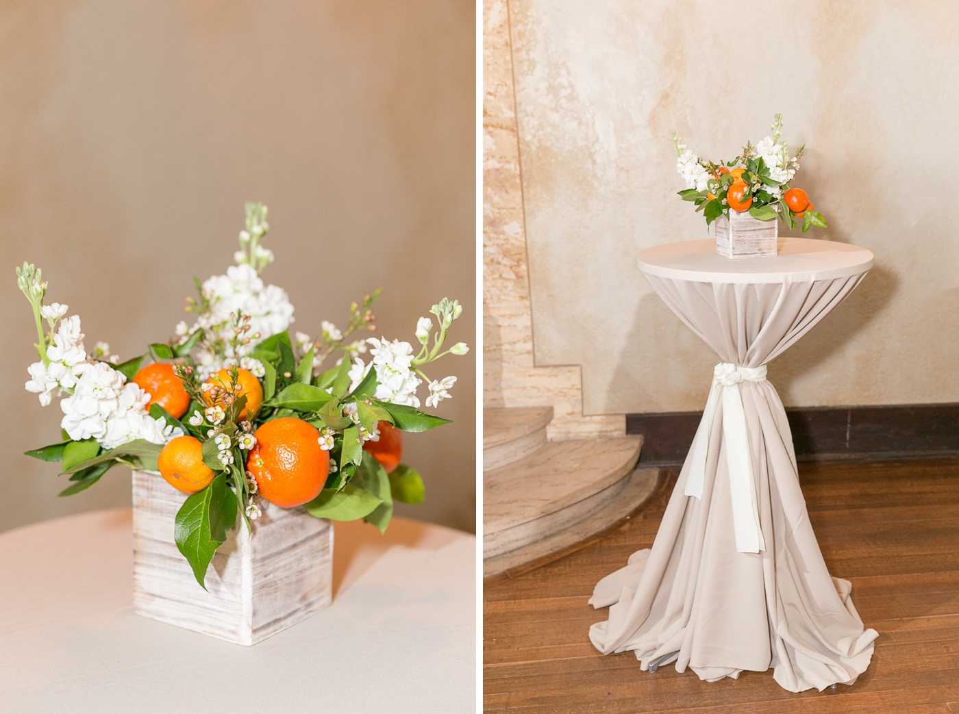 howey mansion citrus wedding