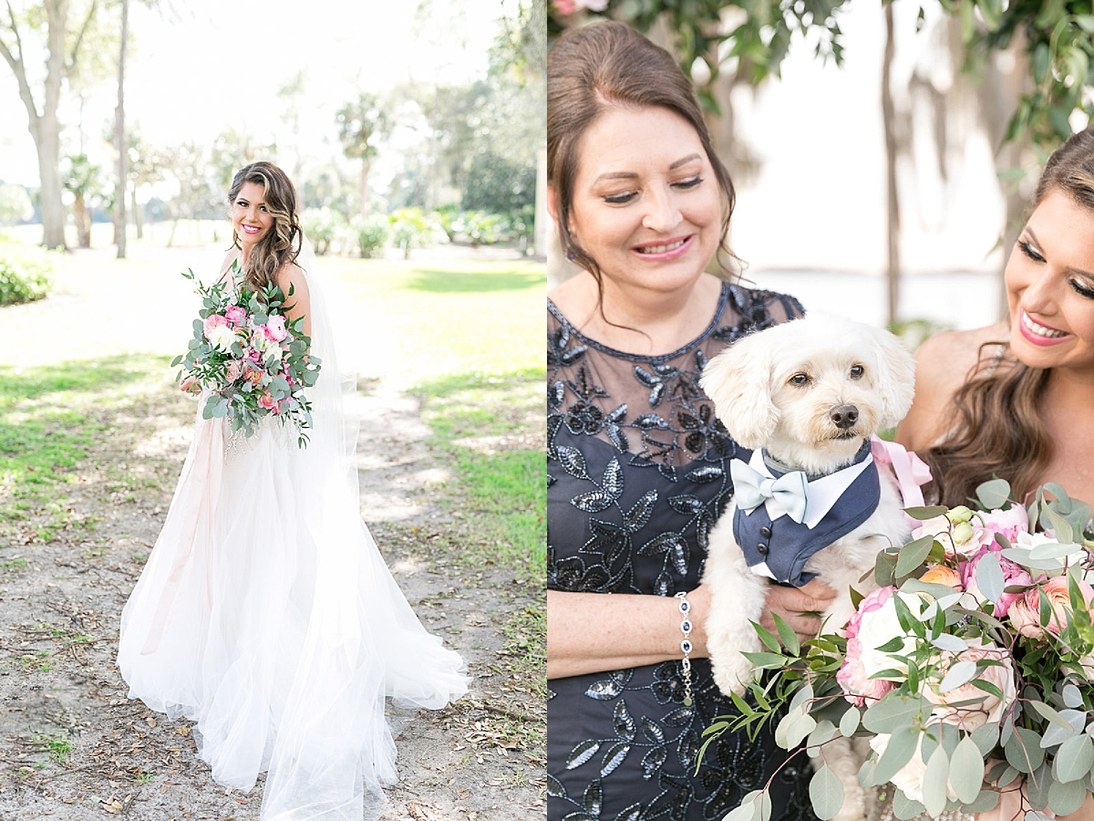 puppies in weddings