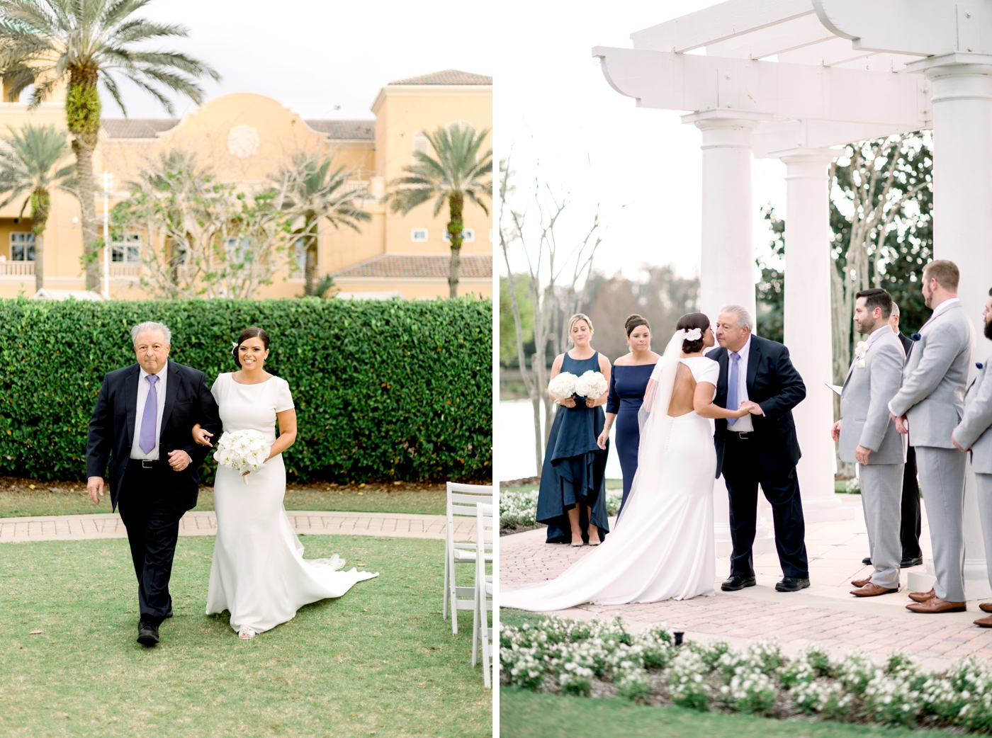 orlando lakefront wedding
