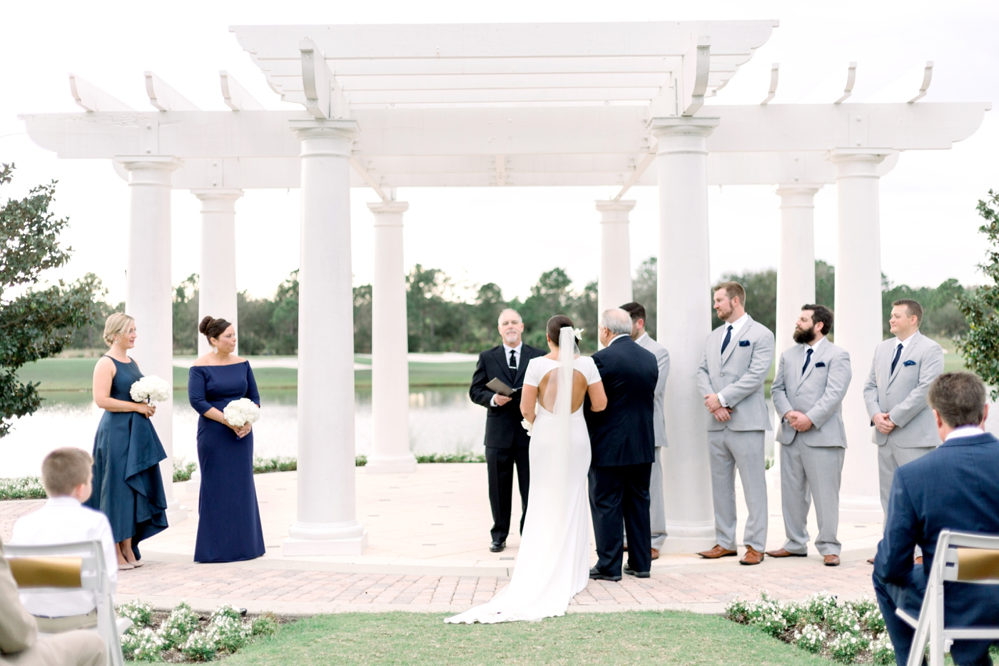 lakefront wedding in orlando