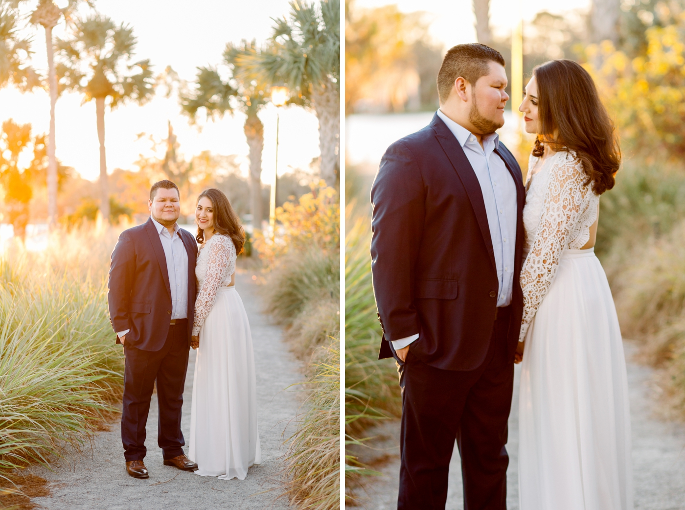 winter park engagement photography