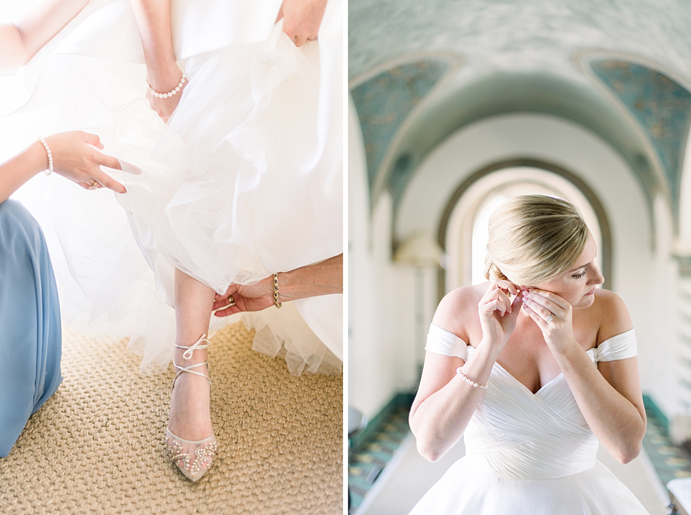 lace up wedding shoes by bella belle