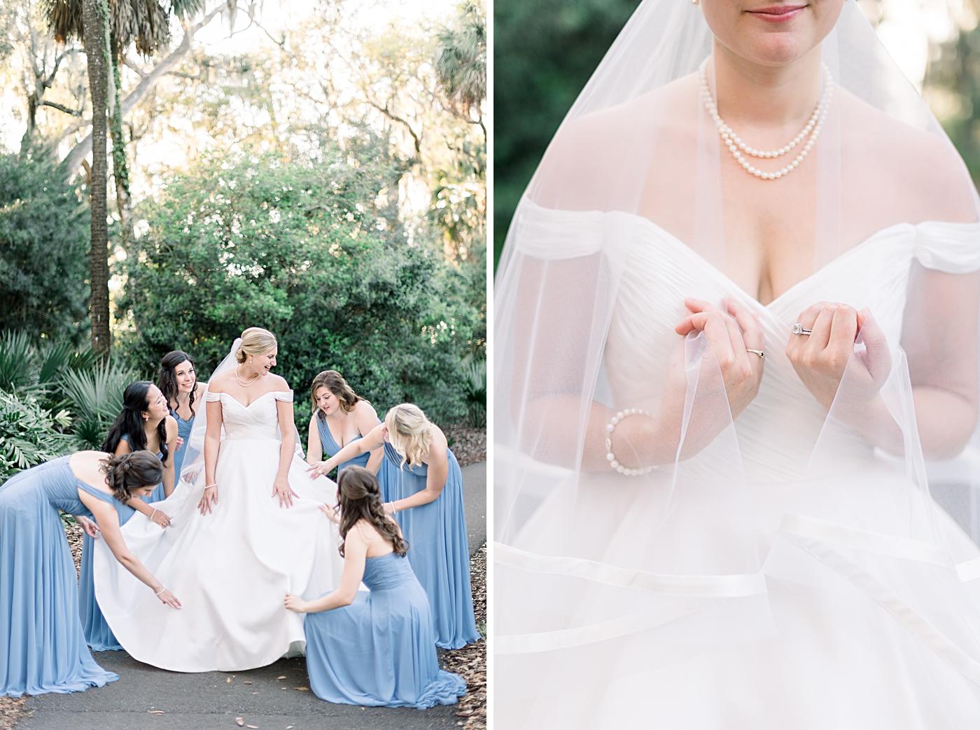 anne barge wedding dress - bok tower wedding