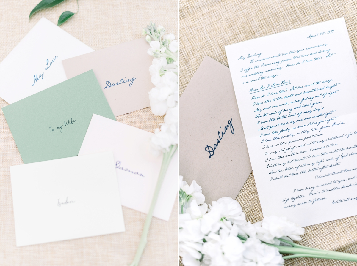 Stationery from Dogwood blossom