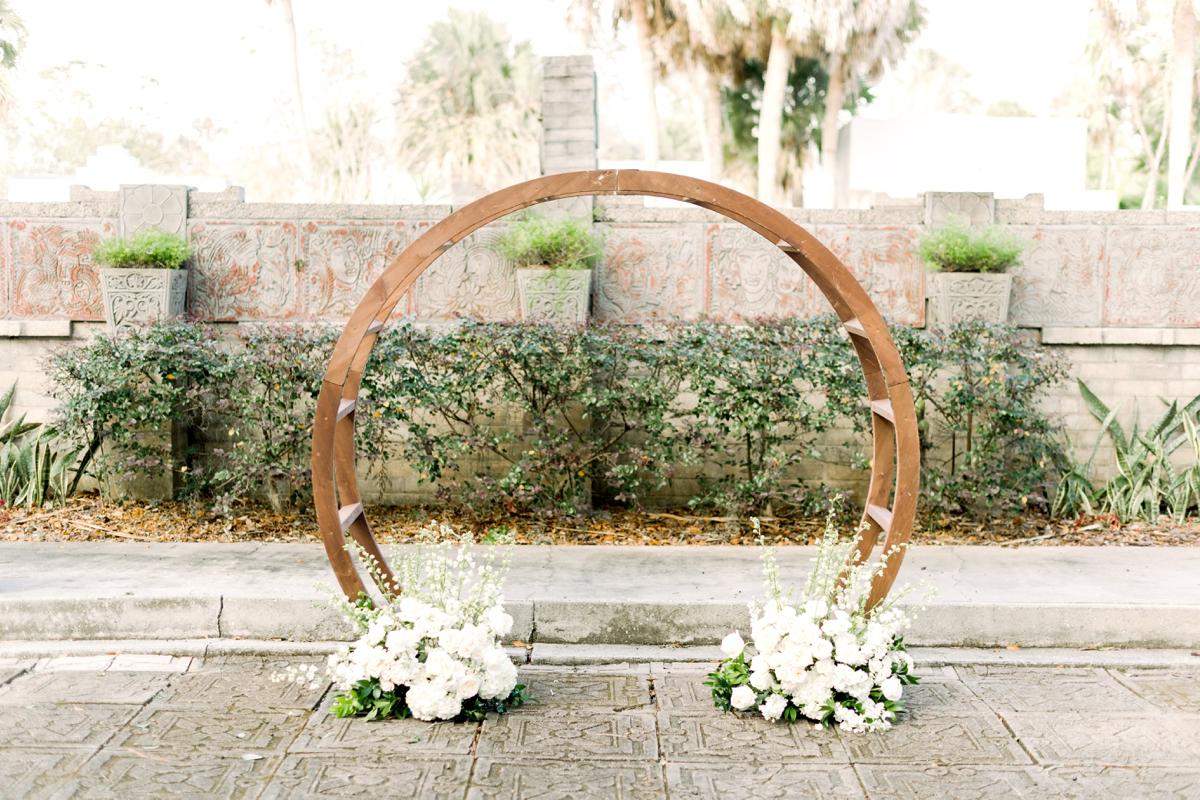 Orlando Party and Wedding Rentals arch