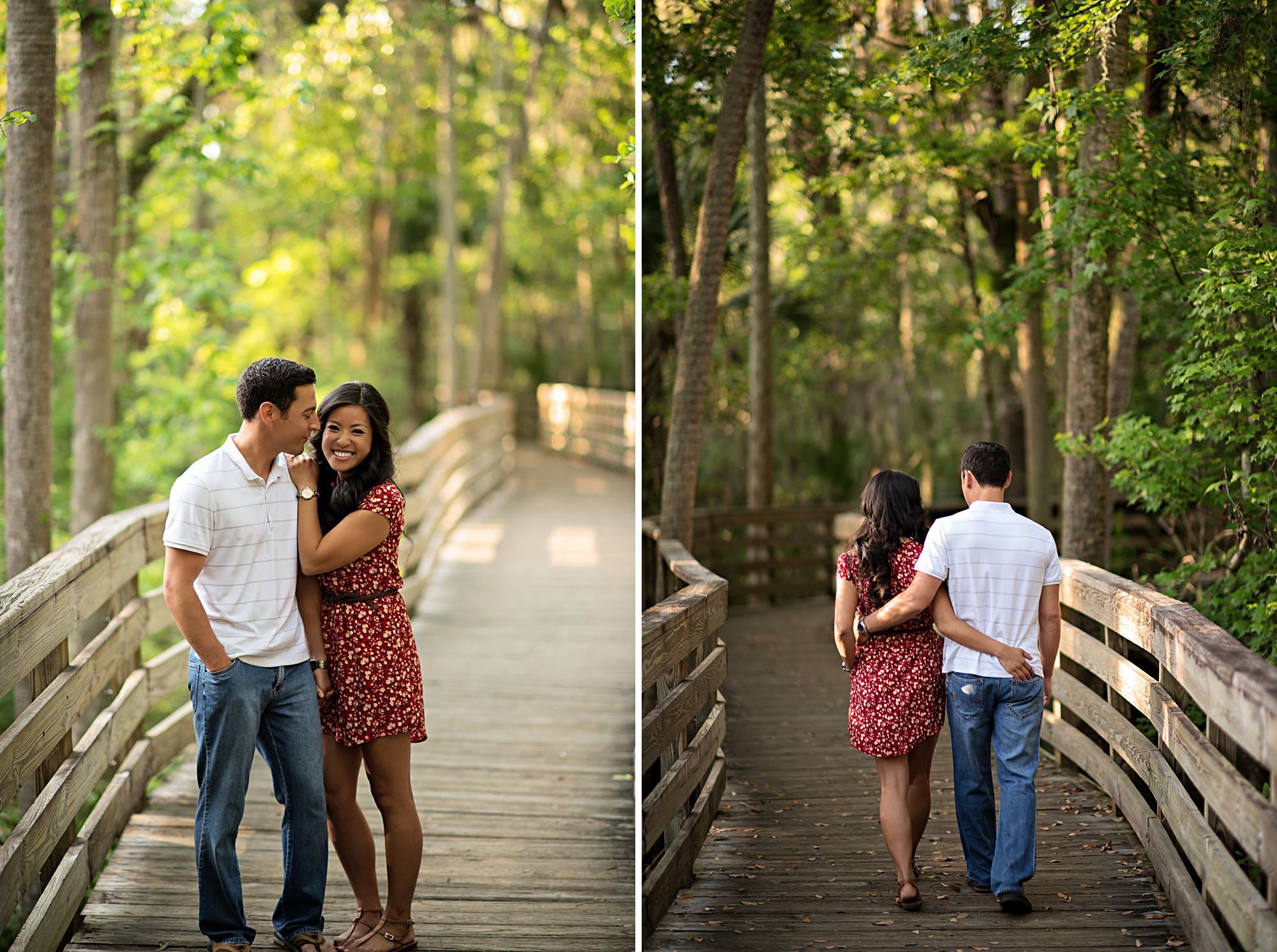 blue springs engagement shoot