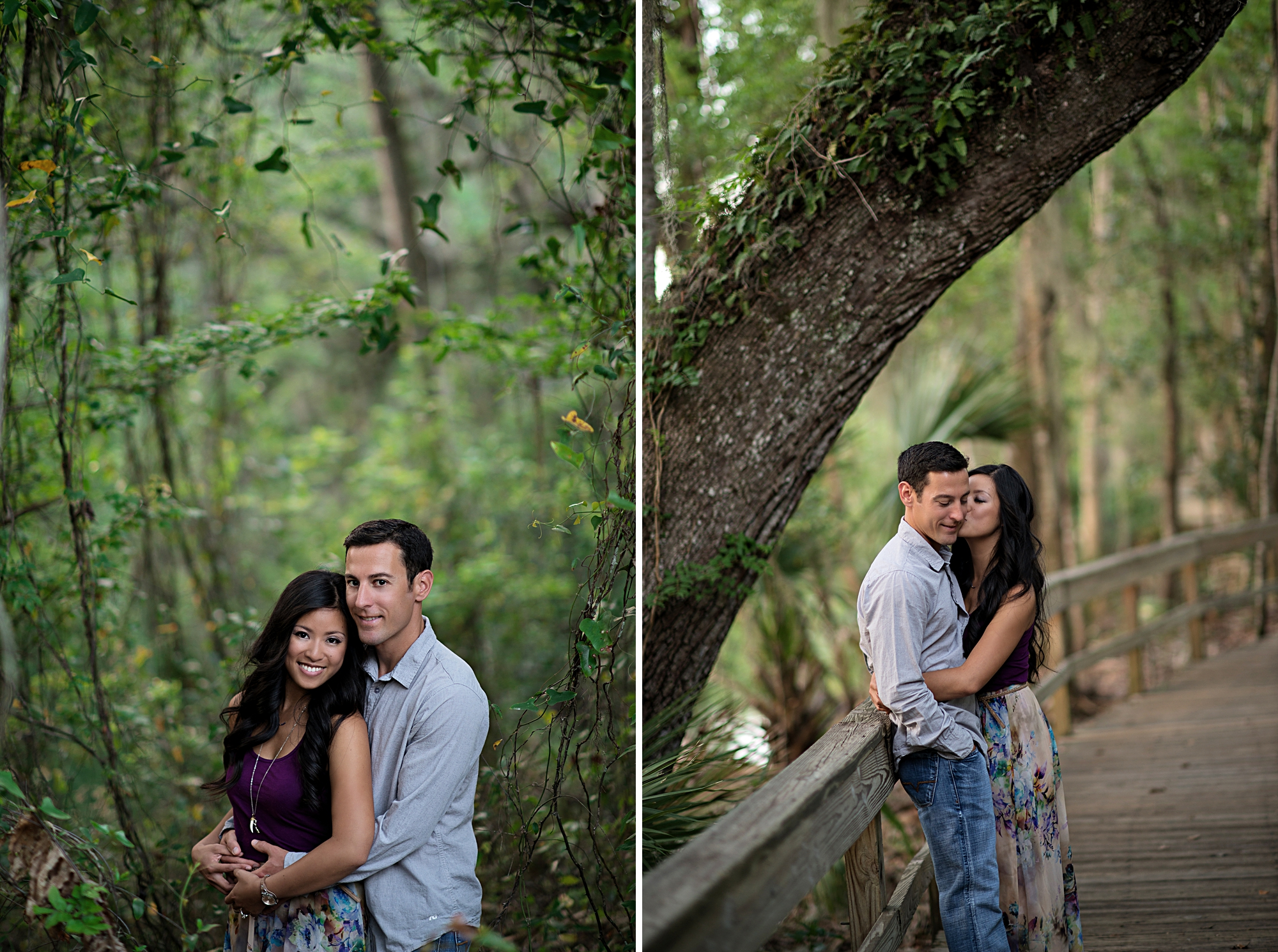 blue springs engagement photoshoot