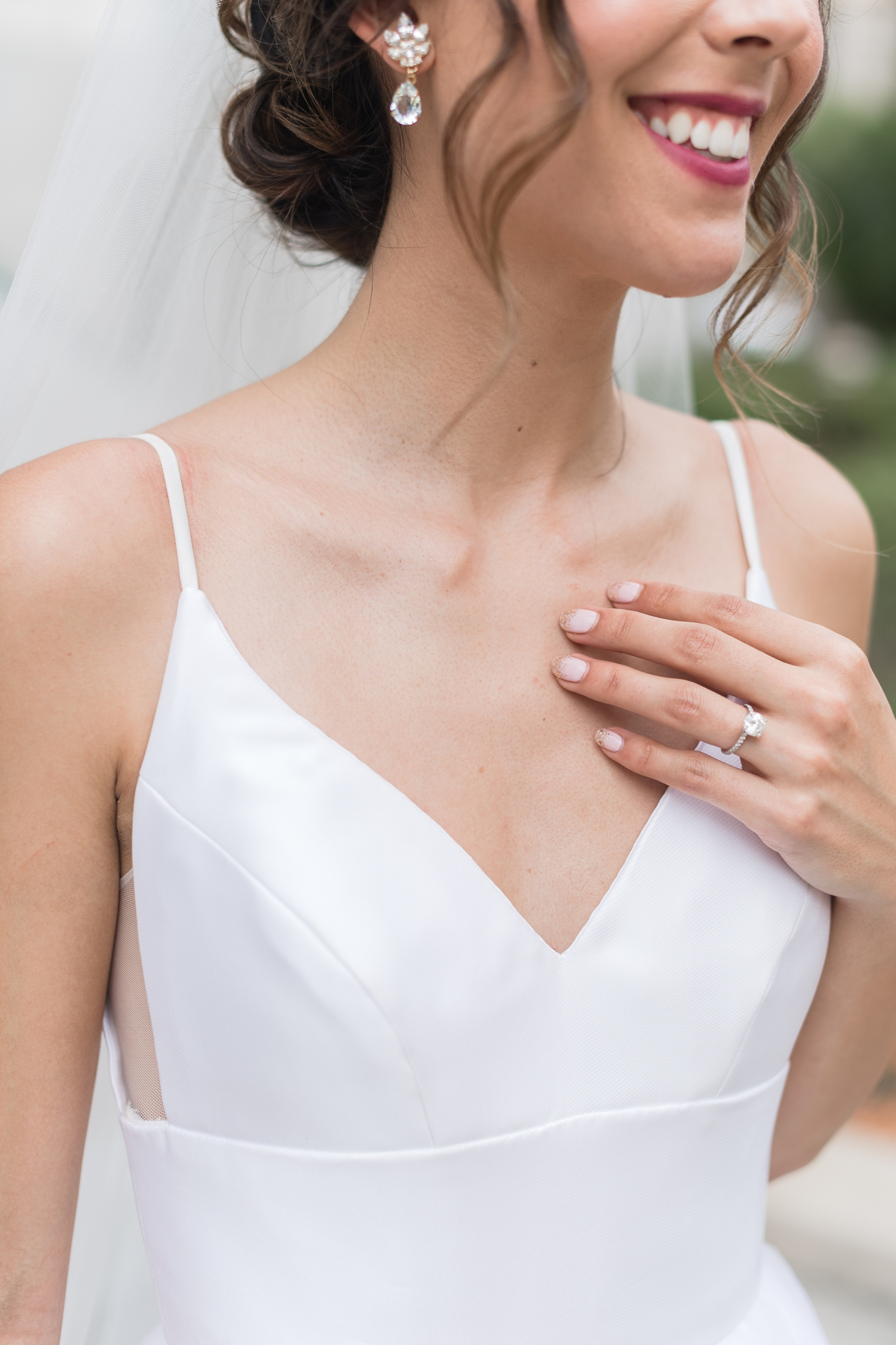 bride manicure