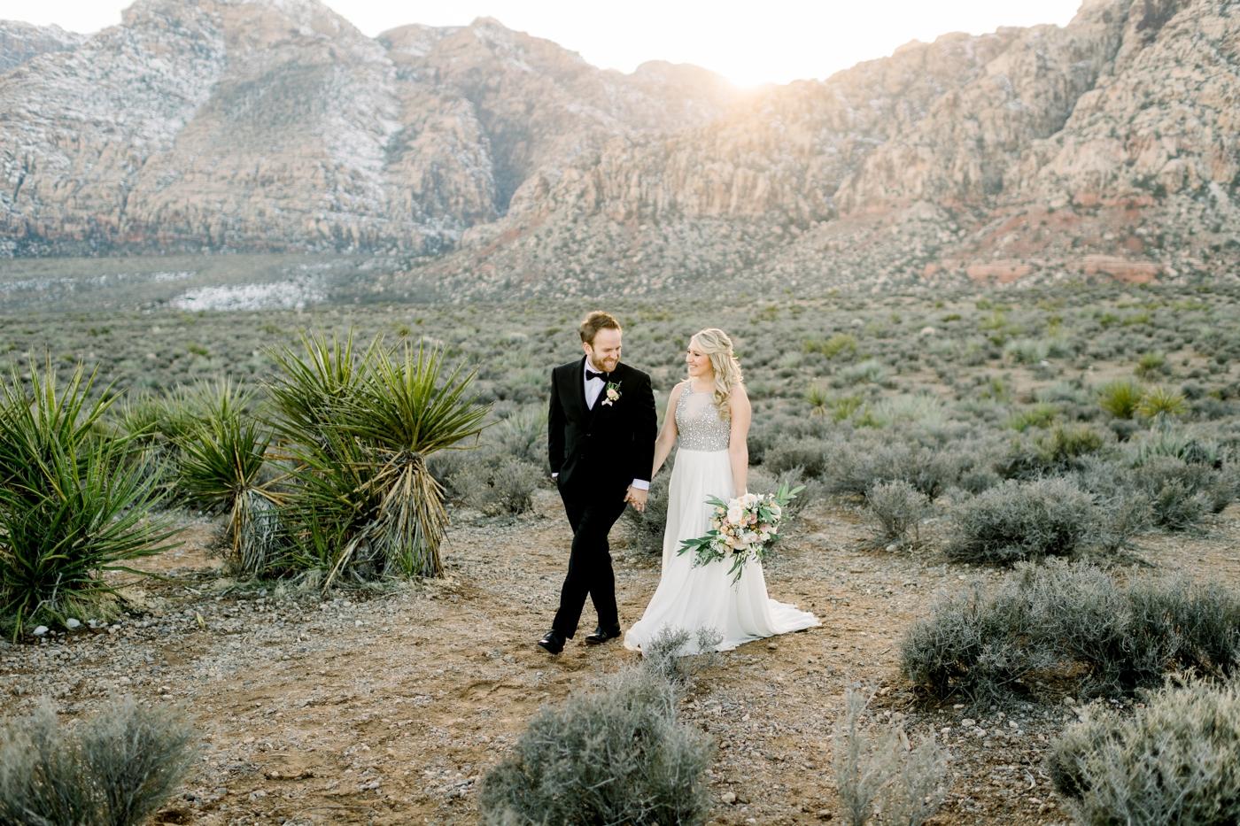 las vegas wedding at red rock canyon