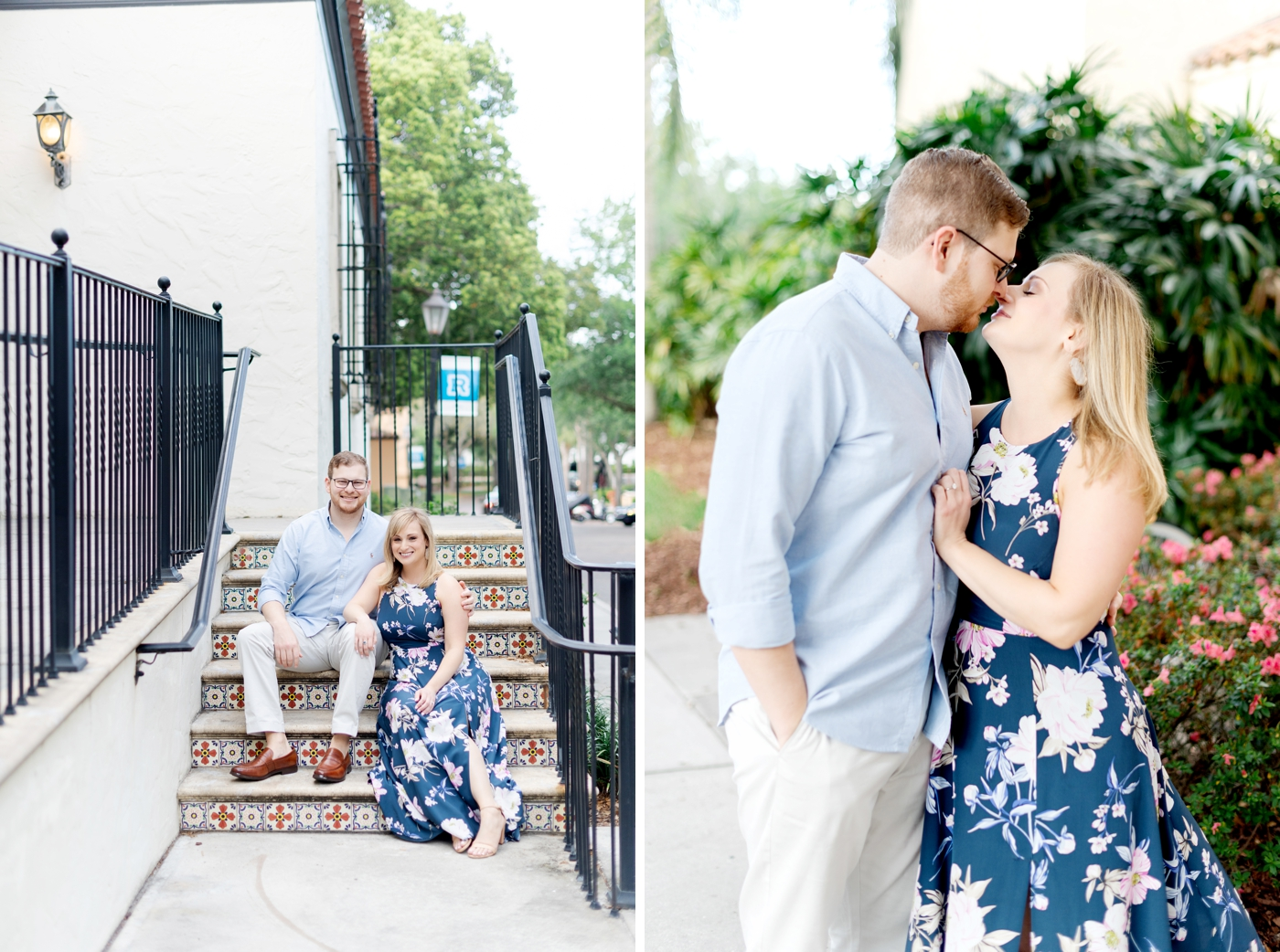 winter park engagement photographer