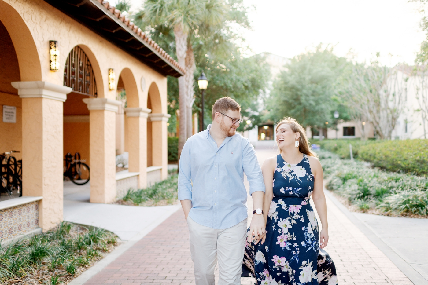 engagement session in winter park