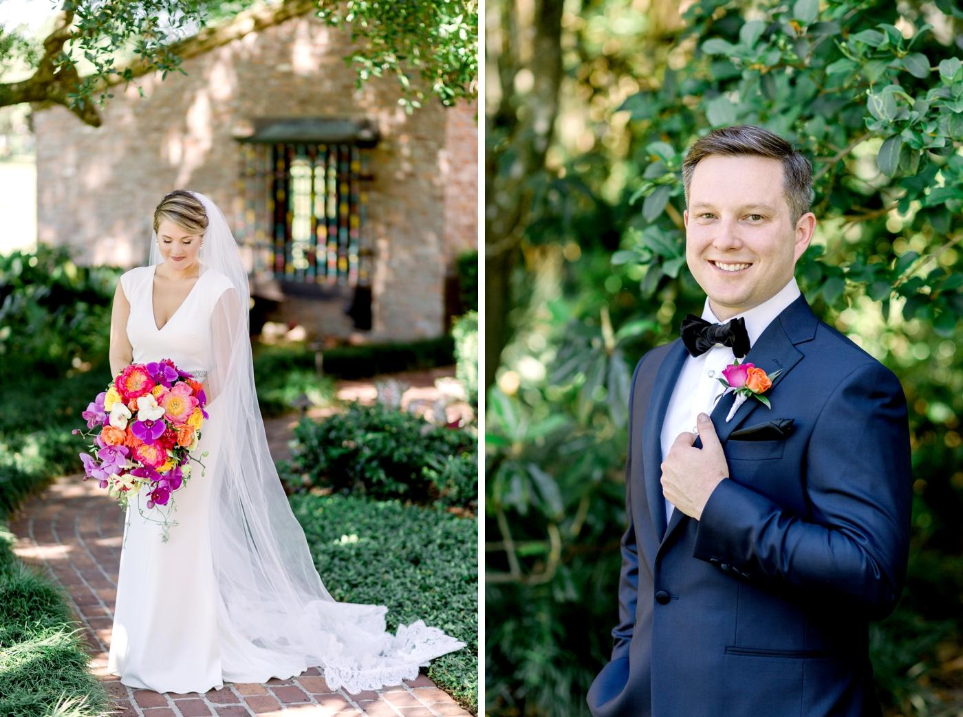 Bagdley Mischka bridal gown