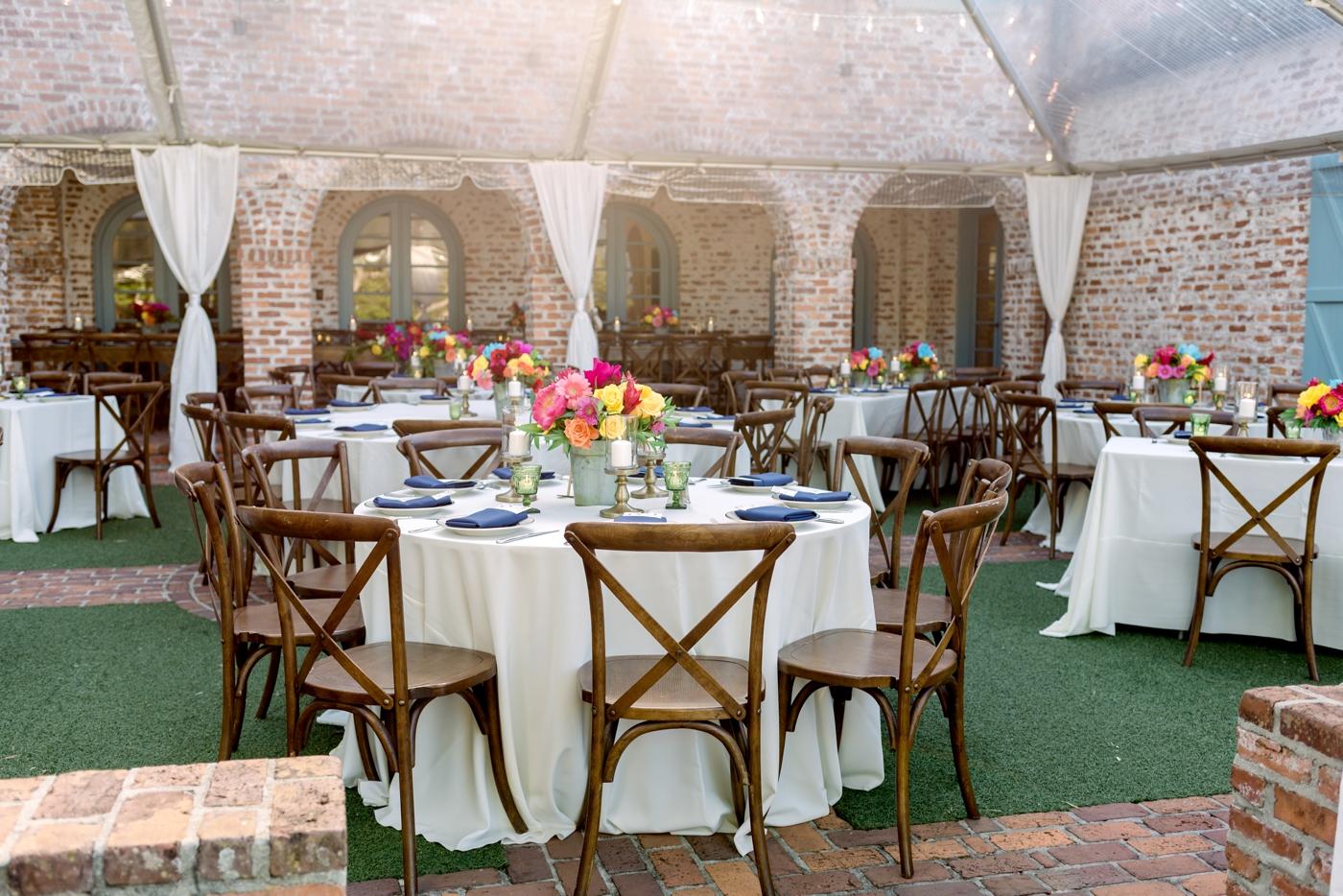 casa feliz wedding reception decor