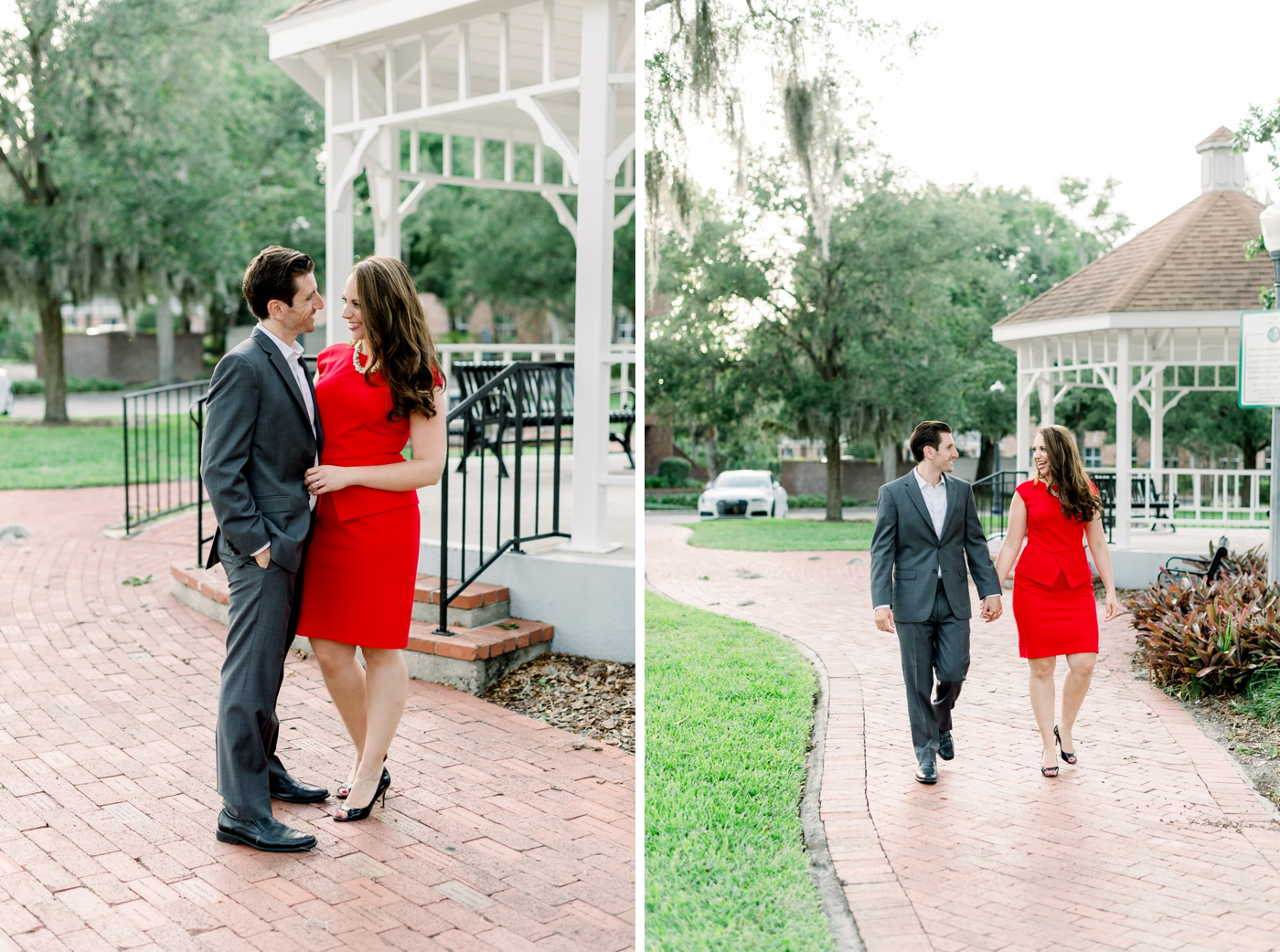 college park engagement photos