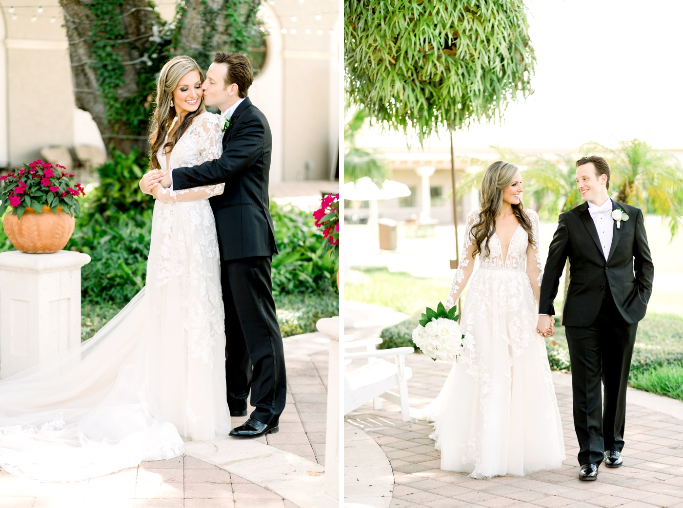 long sleeve bridal gown