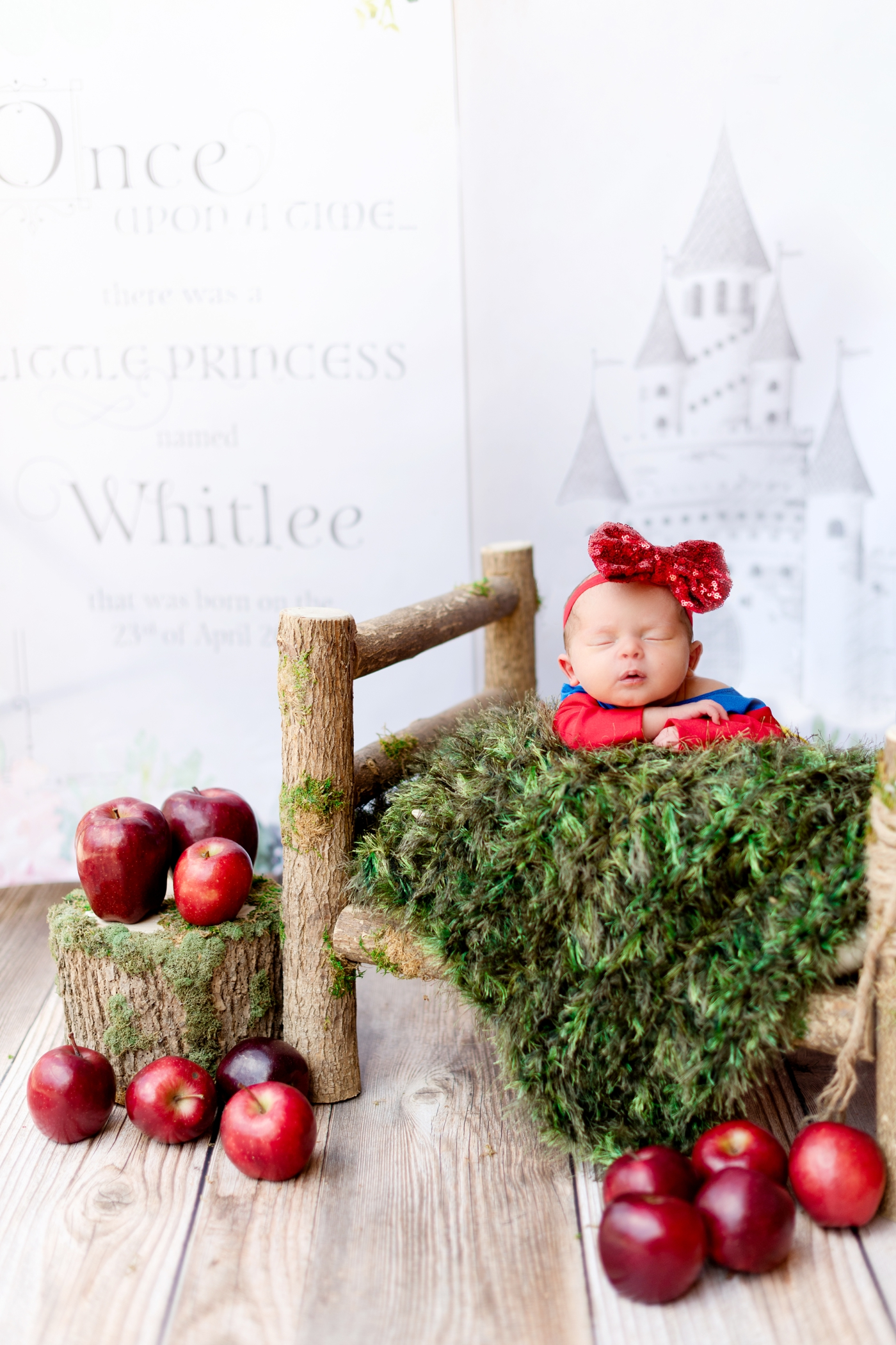 snow white newborn