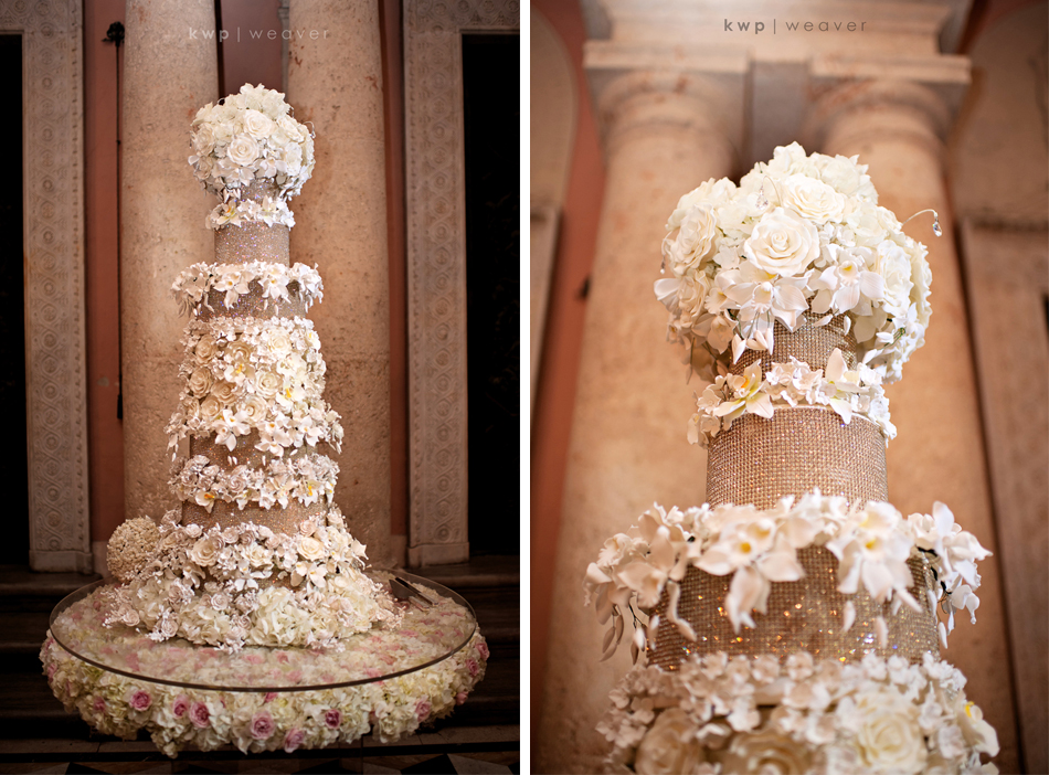 why is there a wedding cake