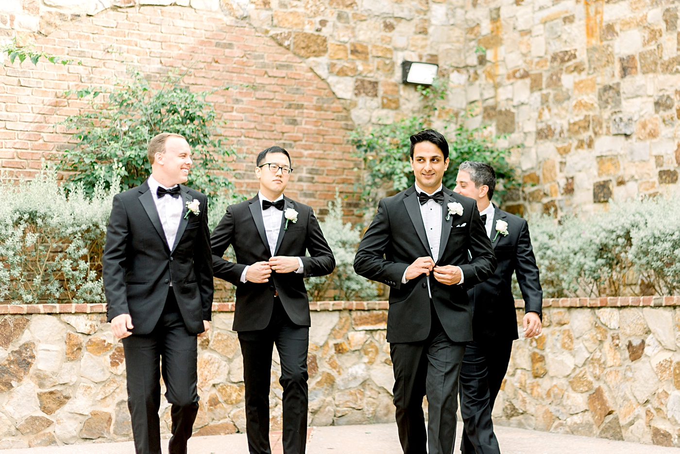 grooms men wedding photos