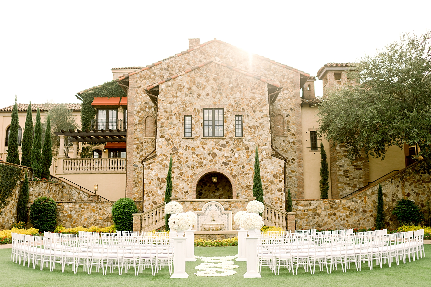bella collina wedding venue