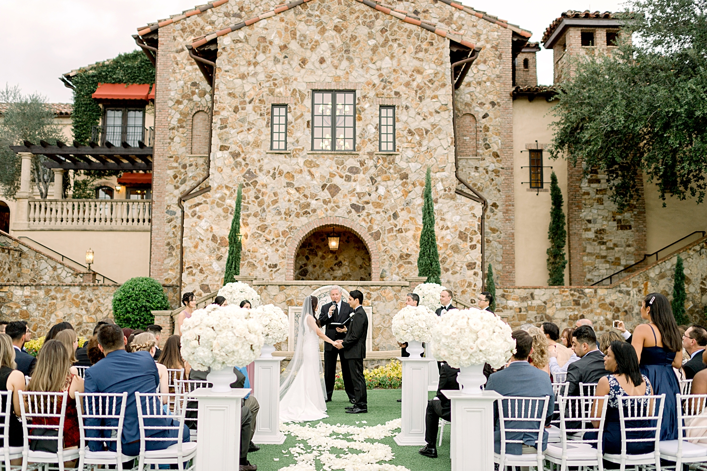 beautiful bella collina wedding venue